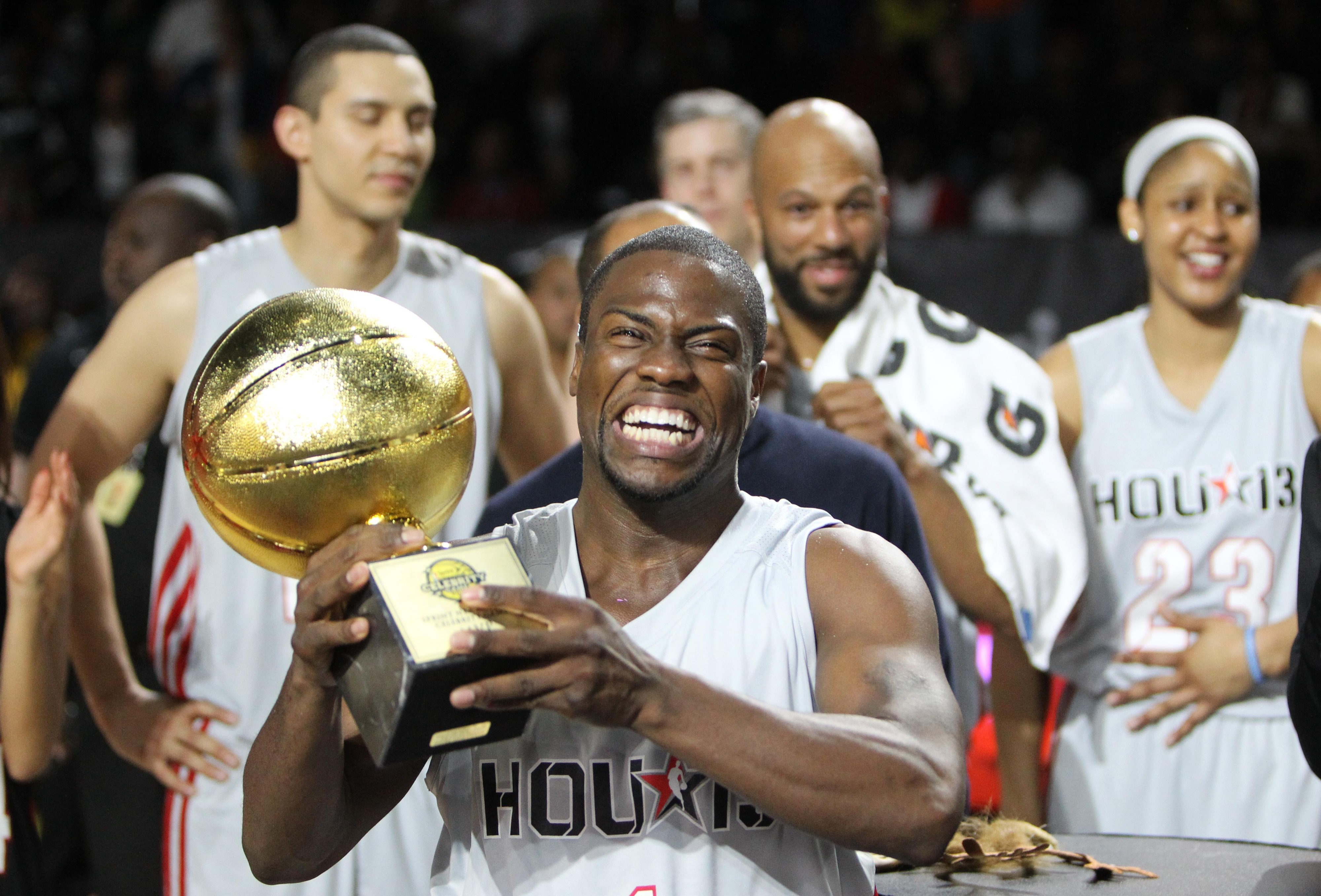 NBA All-Star Celebrity Game 2014: Kevin Hart goes for 3rd straight MVP
