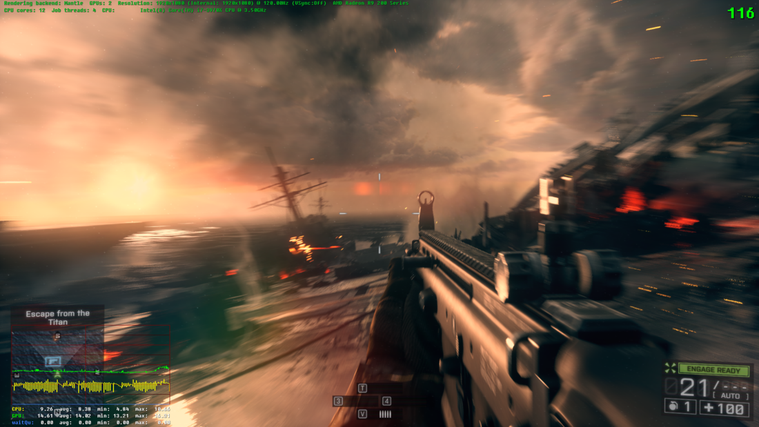 Battlefield 4 AMD Mantle patch now available