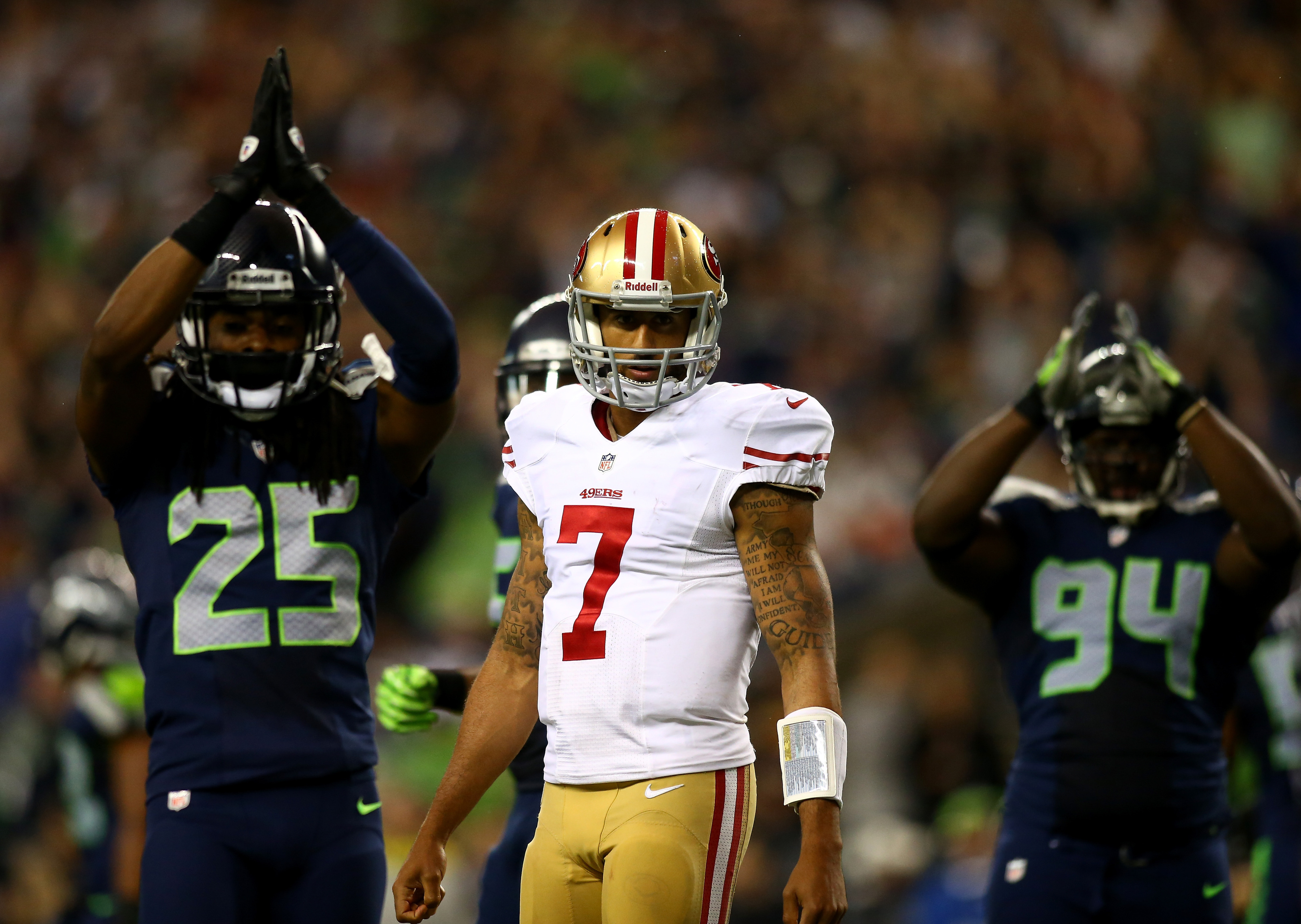 Colin Kaepernick lays into Richard Sherman, and the Seahawks-49ers rivalry is the best