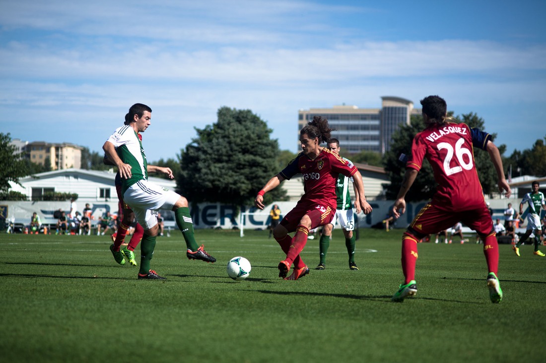 Real Salt Lake's reserves face Portland in a 2013 file photo