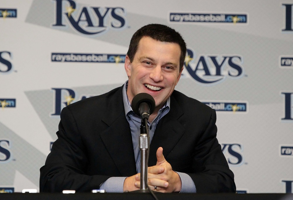 Rays VP of Baseball Operations, Andrew Friedman, has built a consistent winner in a unique way