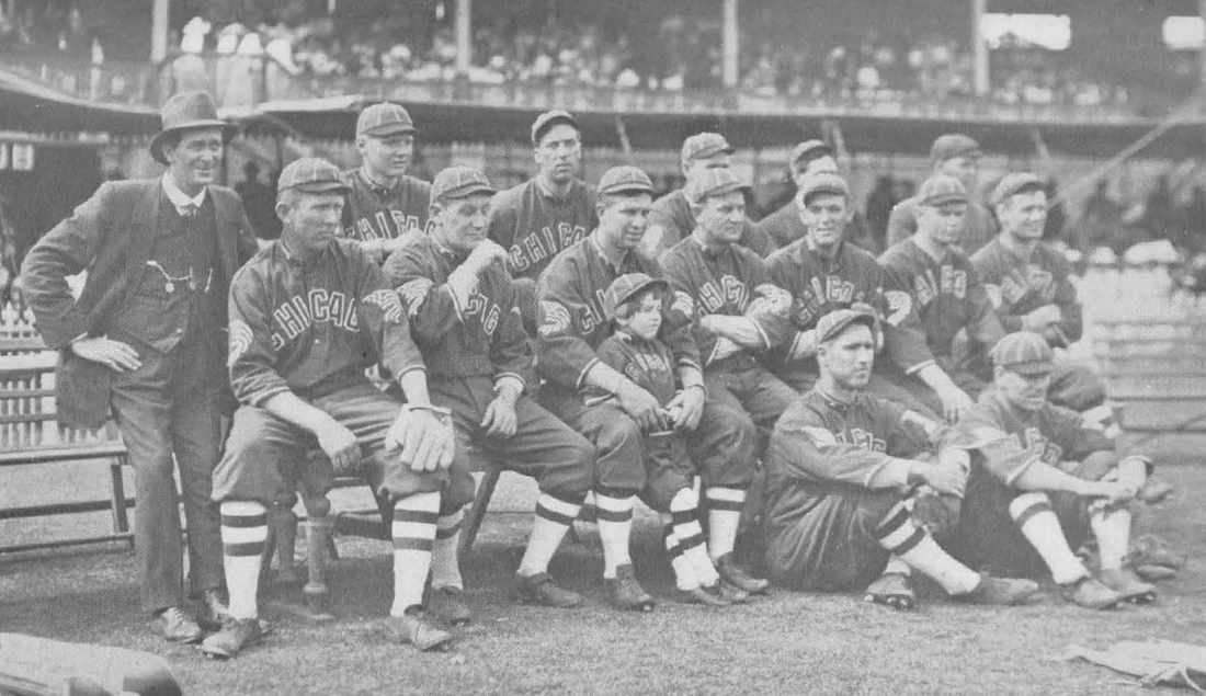 """The White Sox in Cairo, from Ted Sullivan's """"History of World's Tour."""" You can pick out Buck Weaver in any picture."""