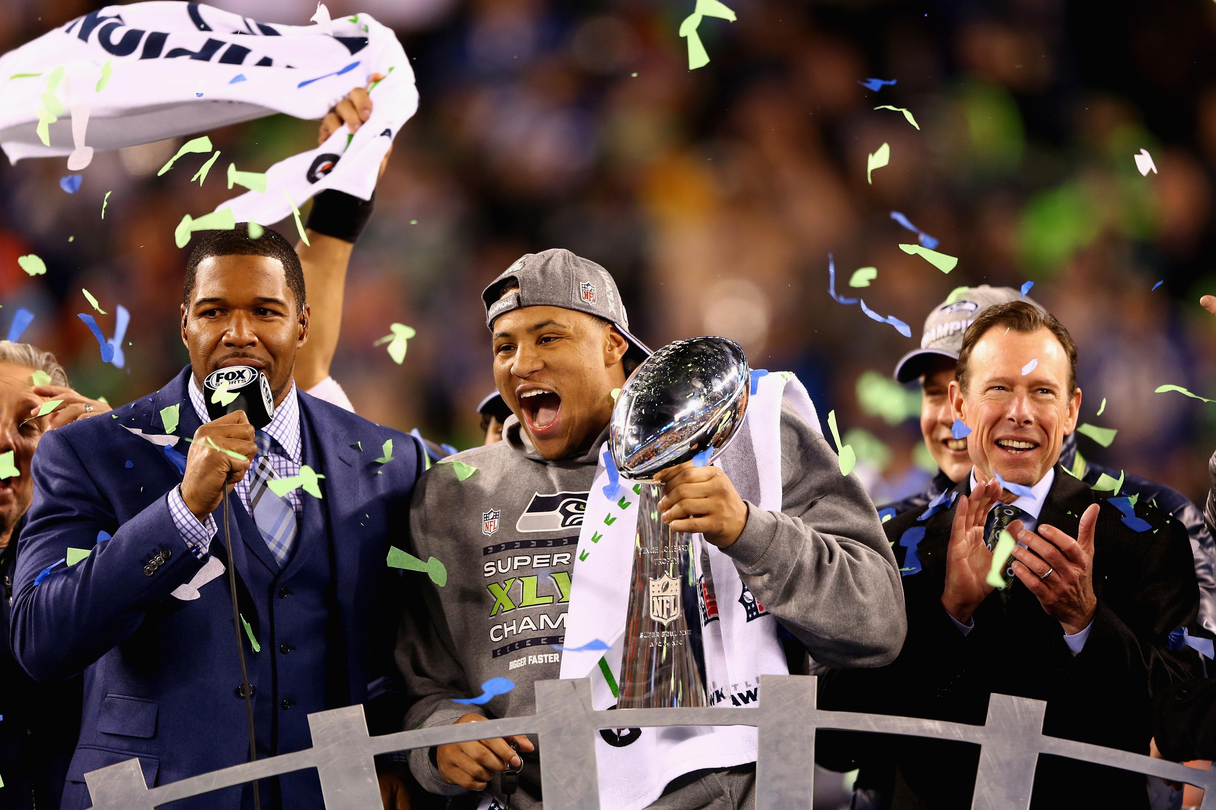 Super Bowl XLVIII: Seahawks celebrate championship