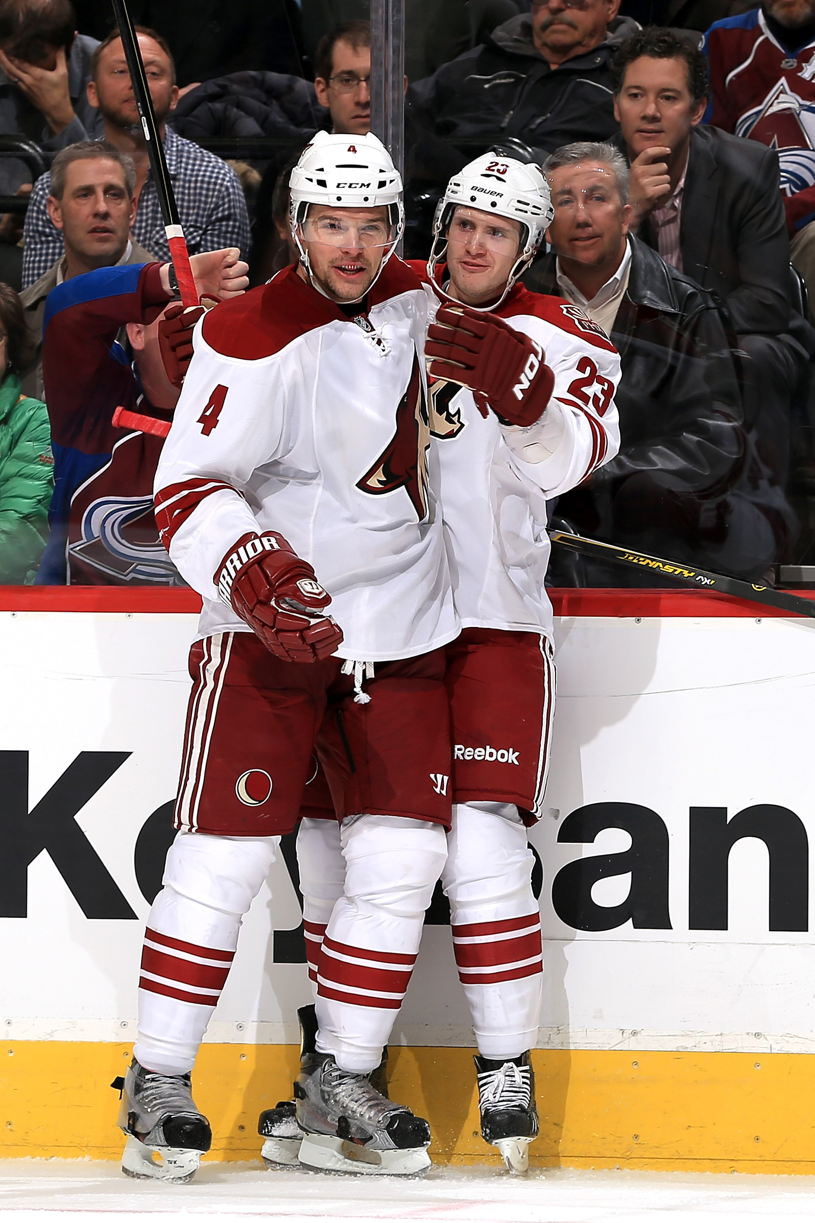There will be no love between this defensive pairing in Sochi.