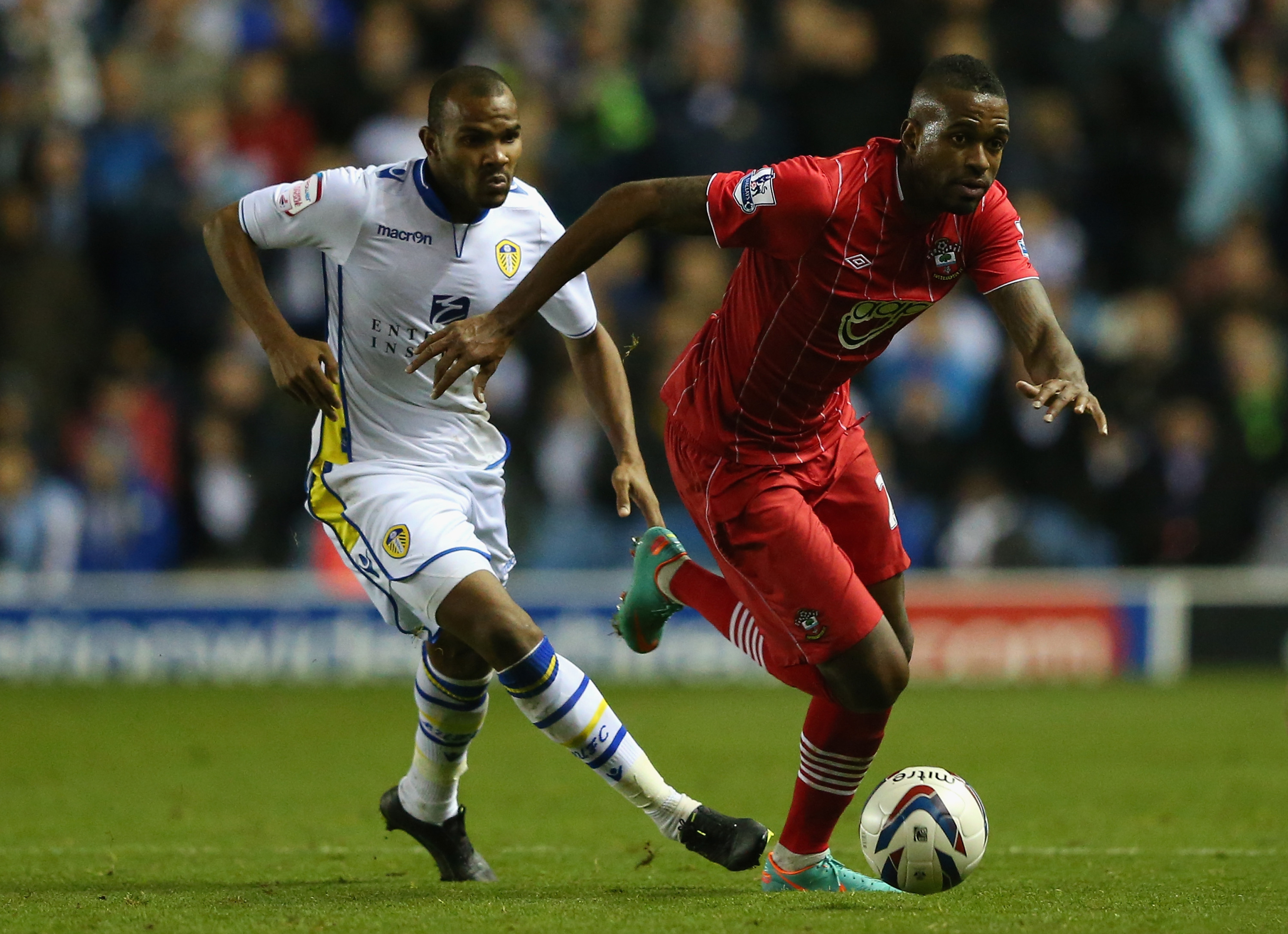 Rodolph Austin was second best in the battle of the Austin's at Turf Moor.