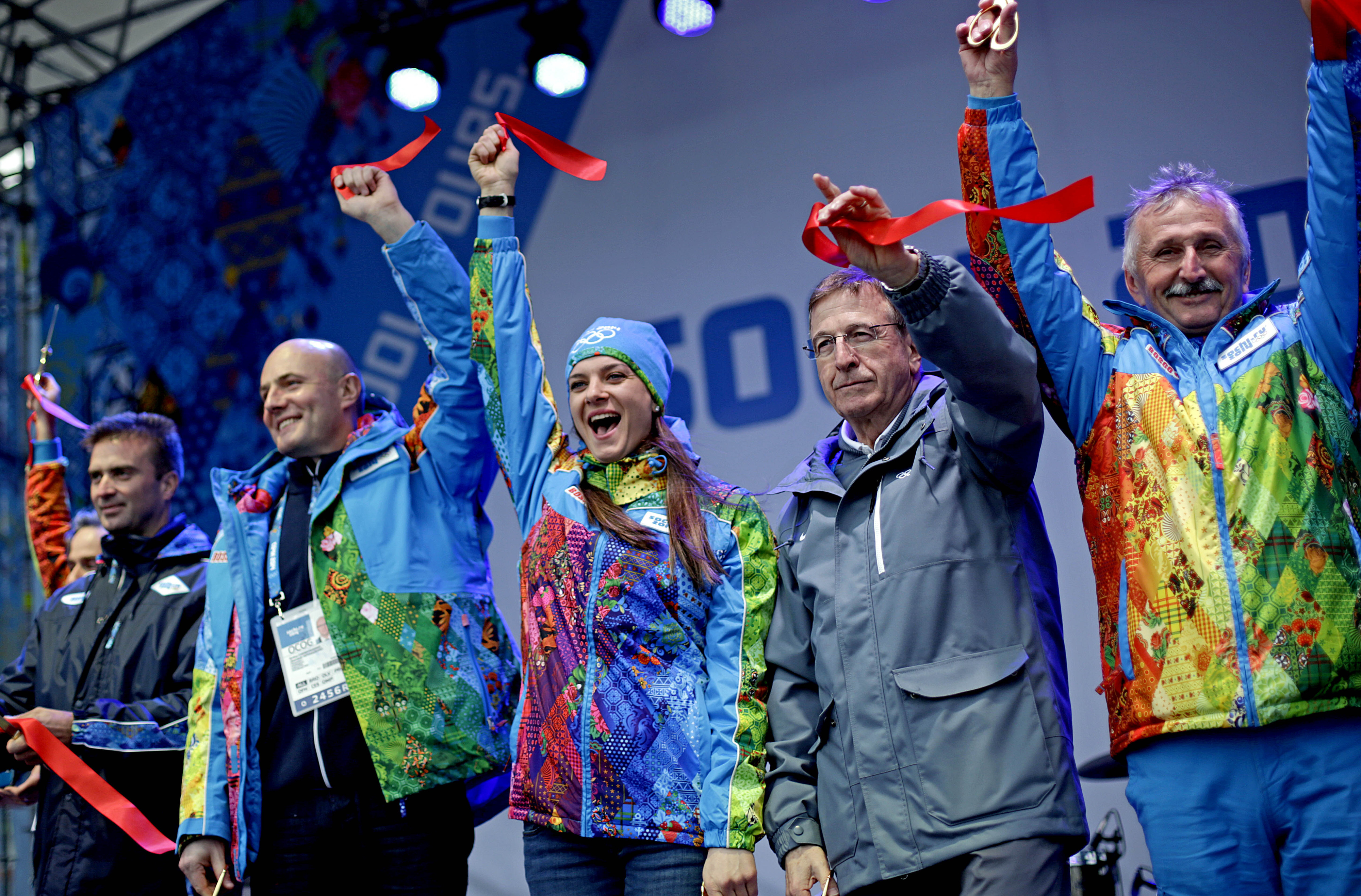 The ribbon was cut last week, but the Winter Olympics kickoff this Friday.