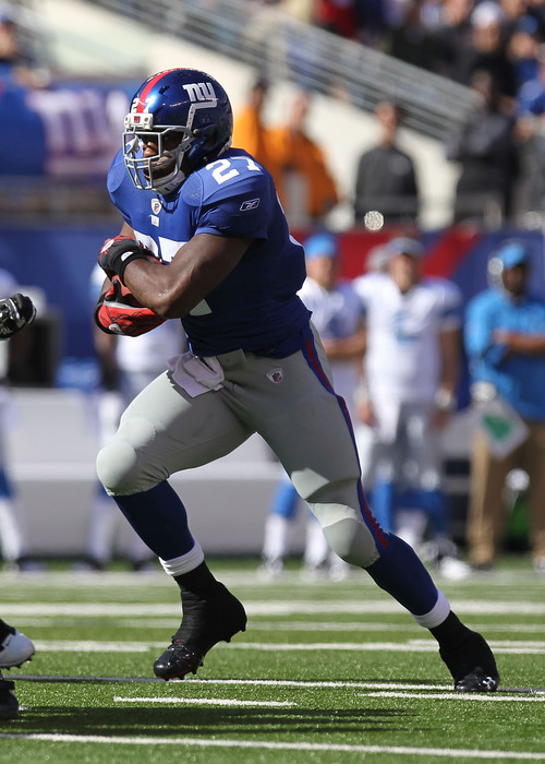 Brandon Jacobs has the highest Z-Speed Score in history