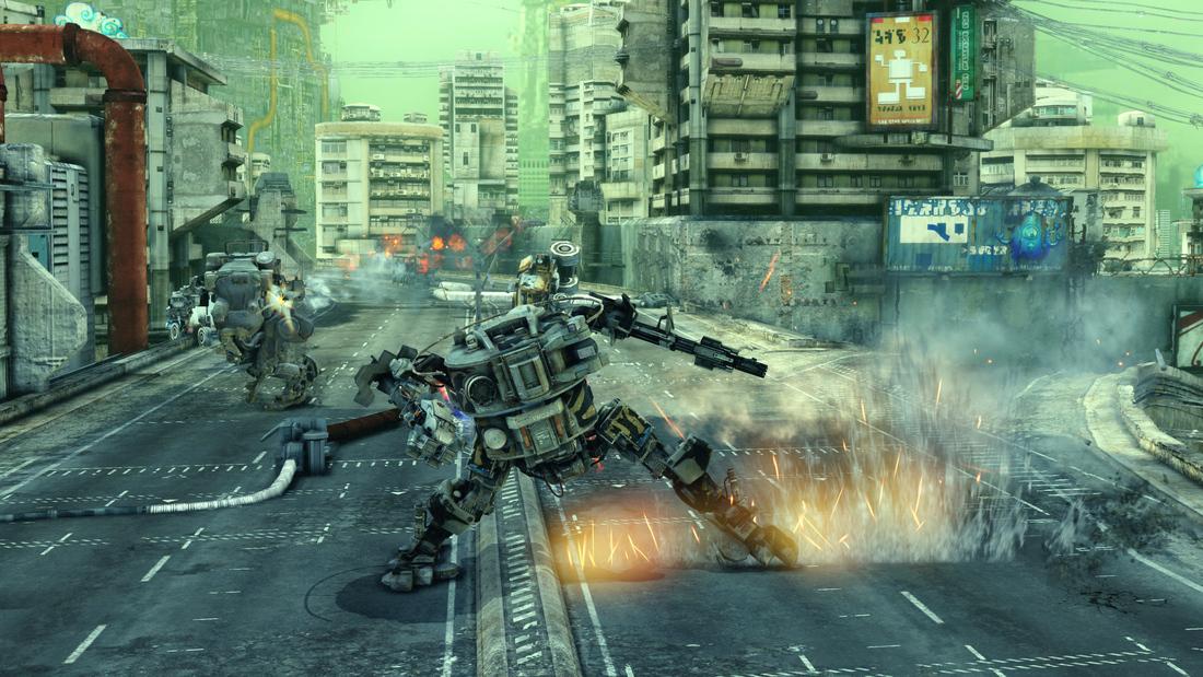 Multiplayer mech shooter Hawken coming to Steam