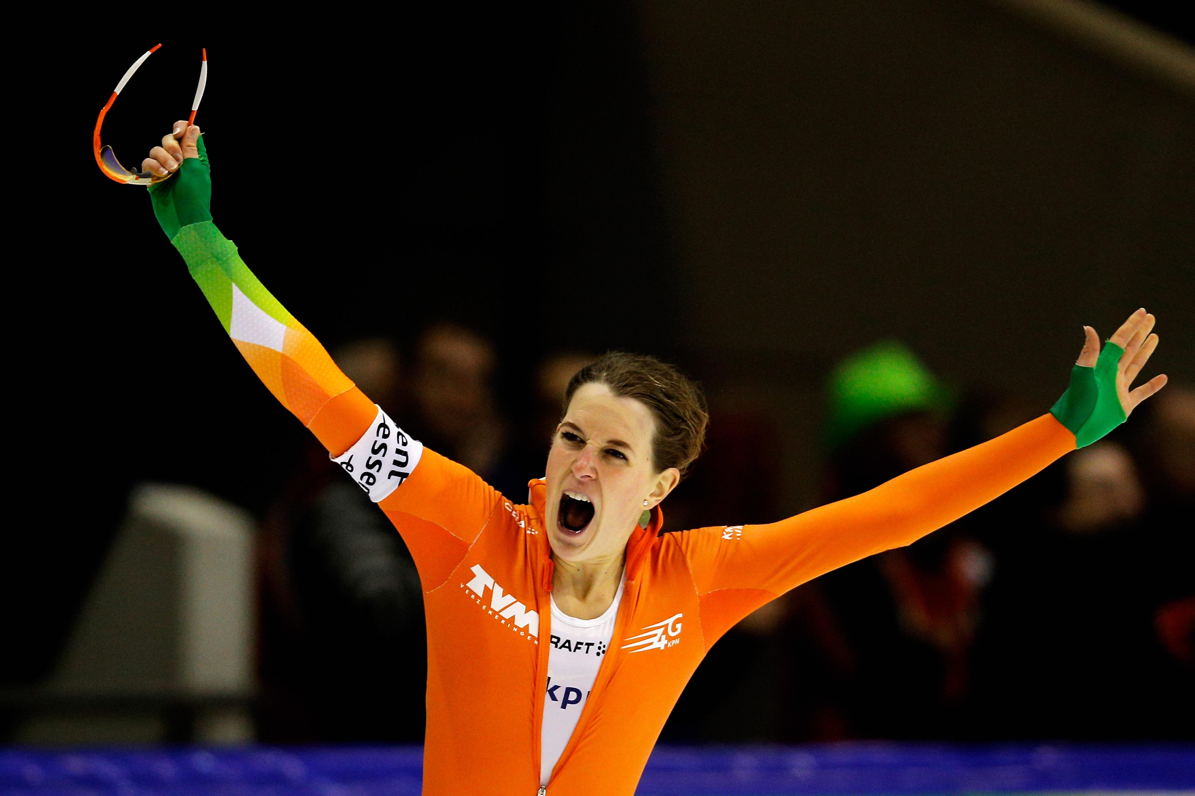 Dutch speedskater Ireen Wüst has won gold at the last two Olympics.