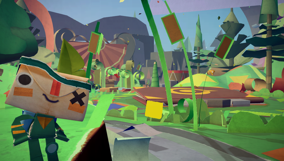 How Tearaway sought the mundane to create something magical