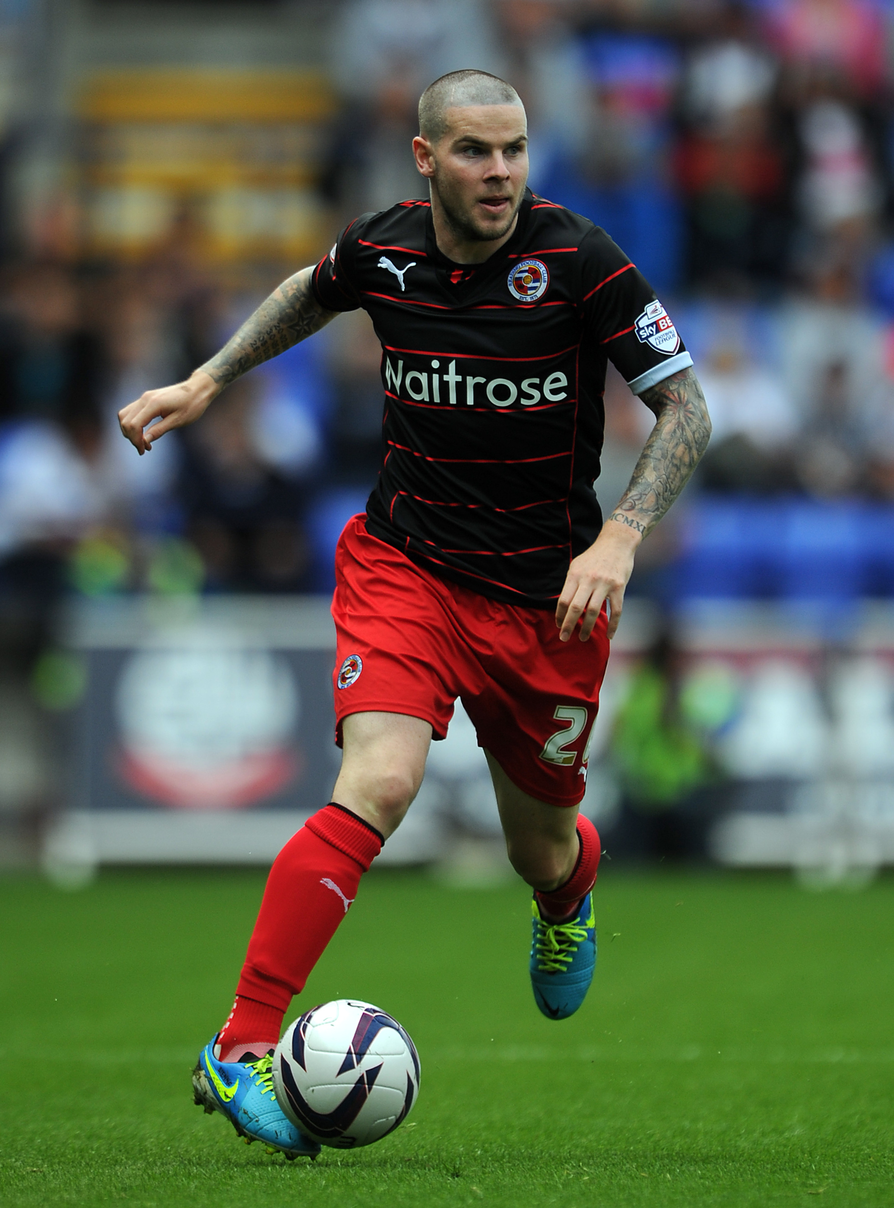 Has Danny Guthrie's absence made Reading better?