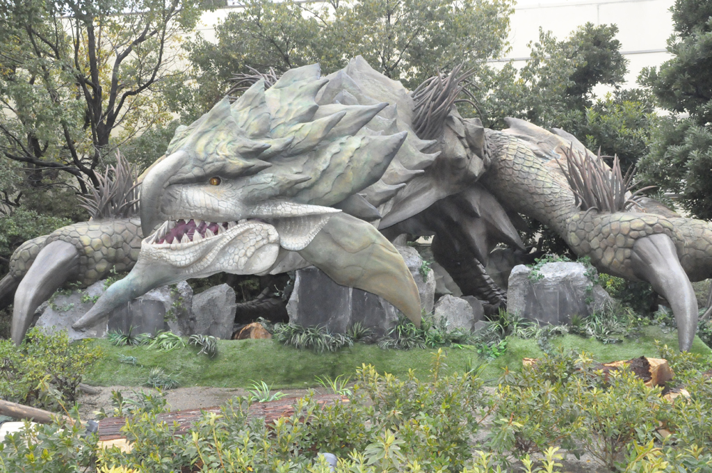 Monster Hunter exhibition featured at Universal Studios Japan