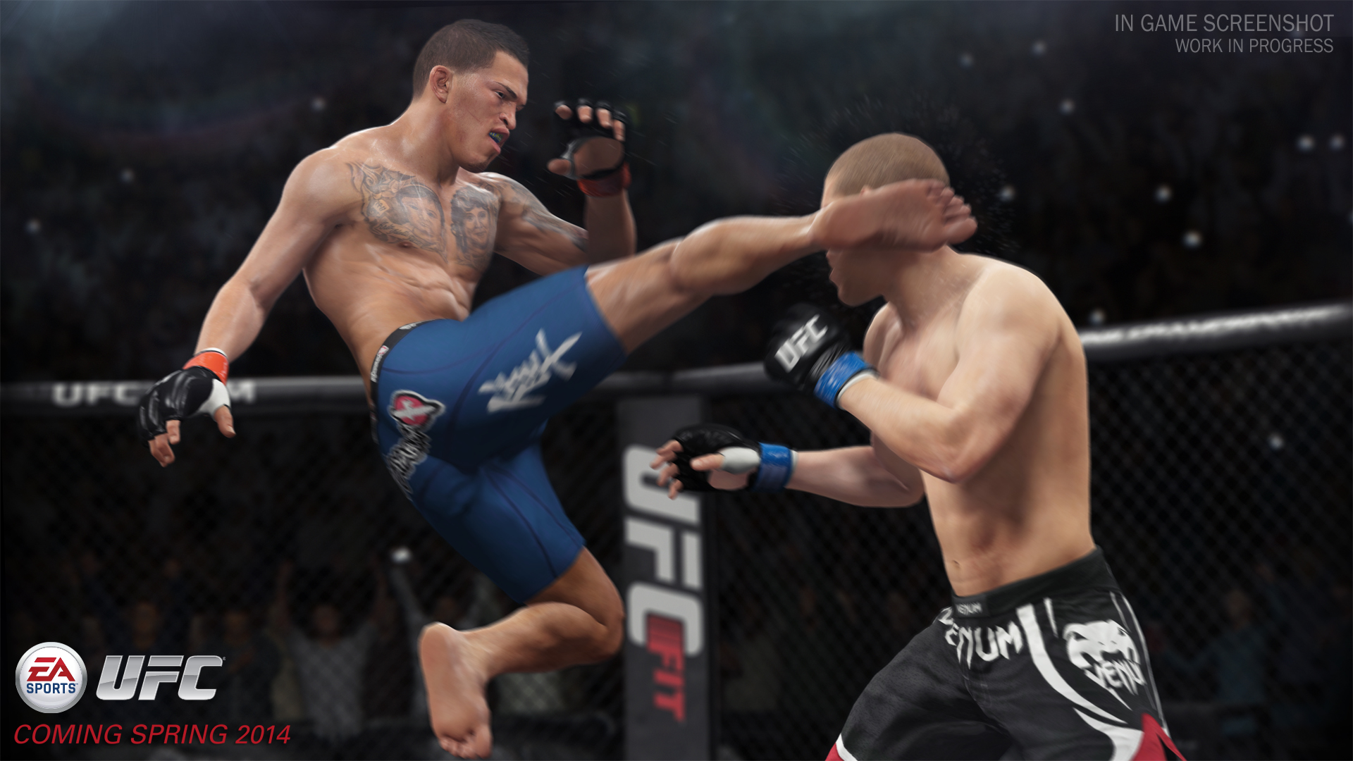 EA Sports UFC is promising, but there's 'a good chunk of work left'