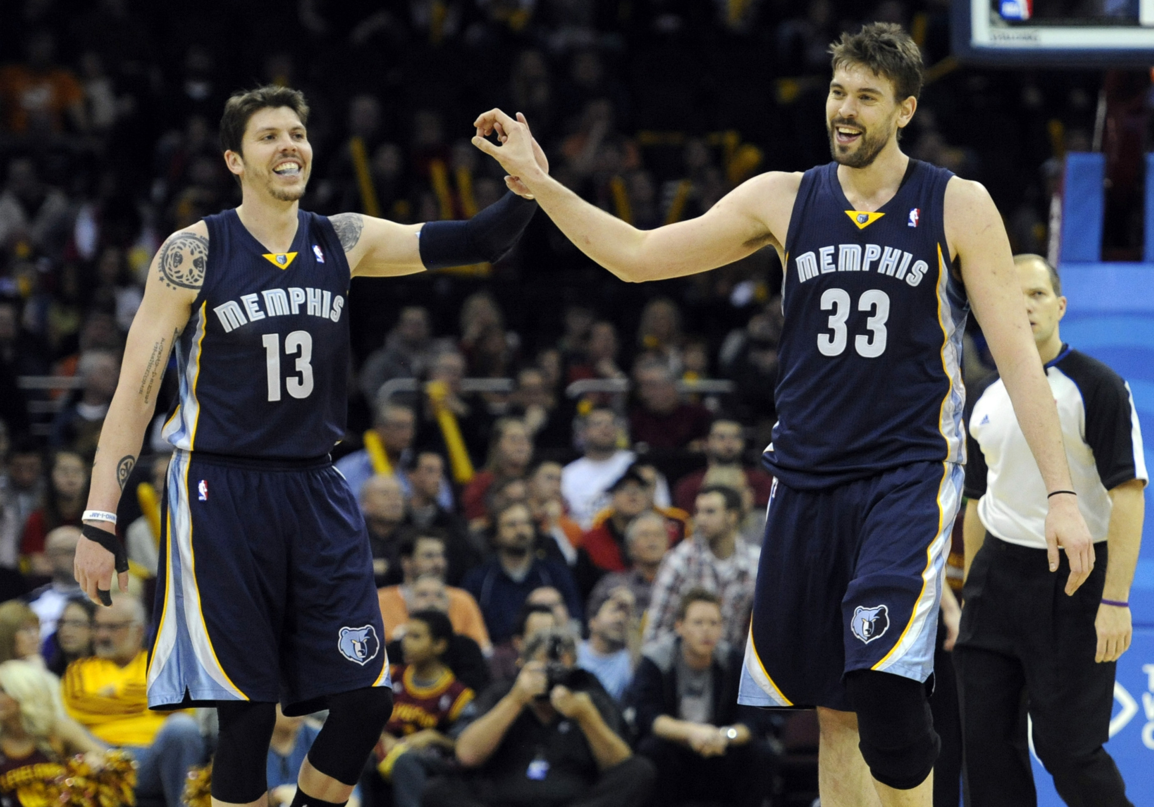 Mike Miller and Marc Gasol