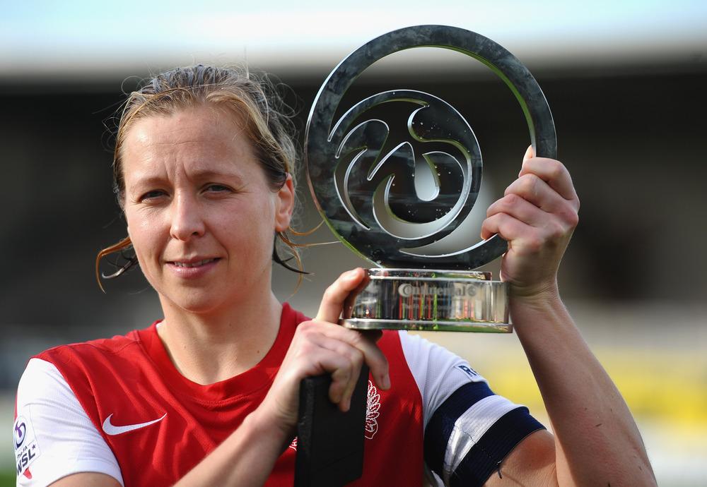 New Reading FC Ladies Manager Jayne Ludlow