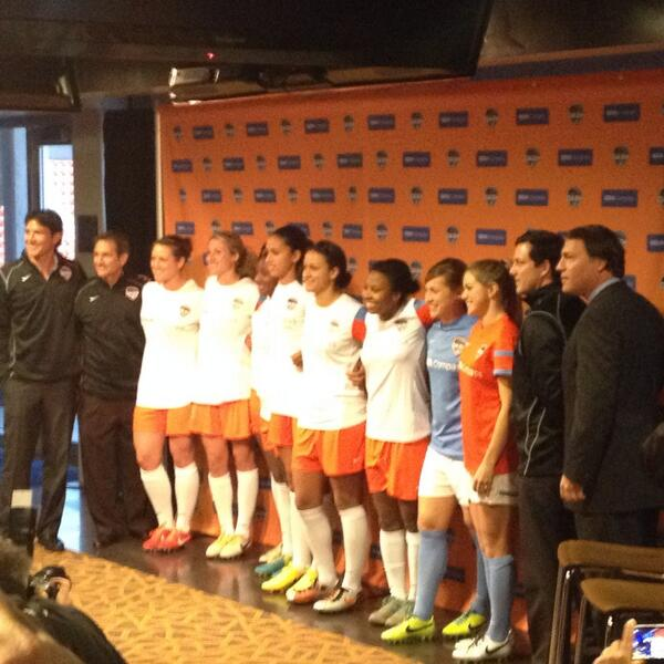 At Dash Day, fans had a chance to buy the first available Houston Dash merchandise