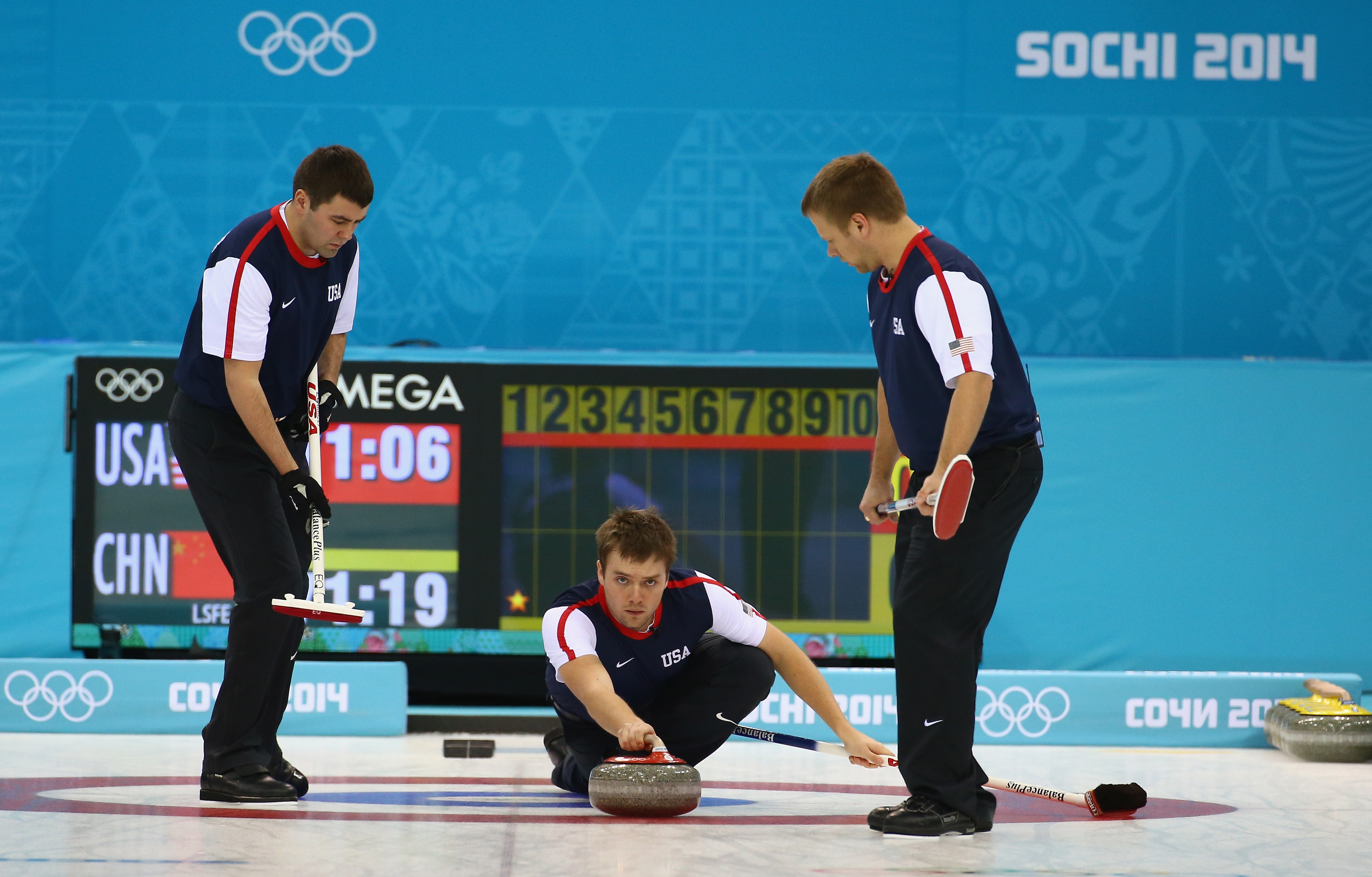 Olympic curling 2014 results: Americans go 0-3 overall in Tuesday action
