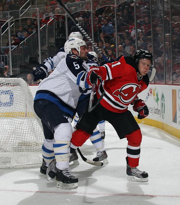 A visual representation of Mattias Tedenby's 43 NHL games in 2011-12.