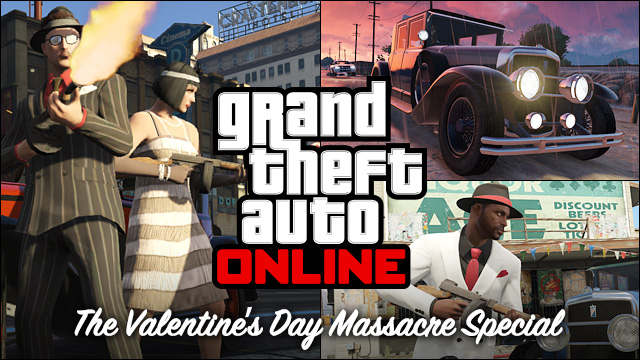 GTA Online celebrates Valentine's Day with Massacre Special update
