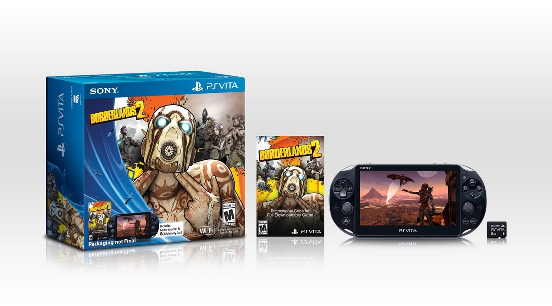 Borderlands 2 bundle featuring new PS Vita available for pre-order (update)