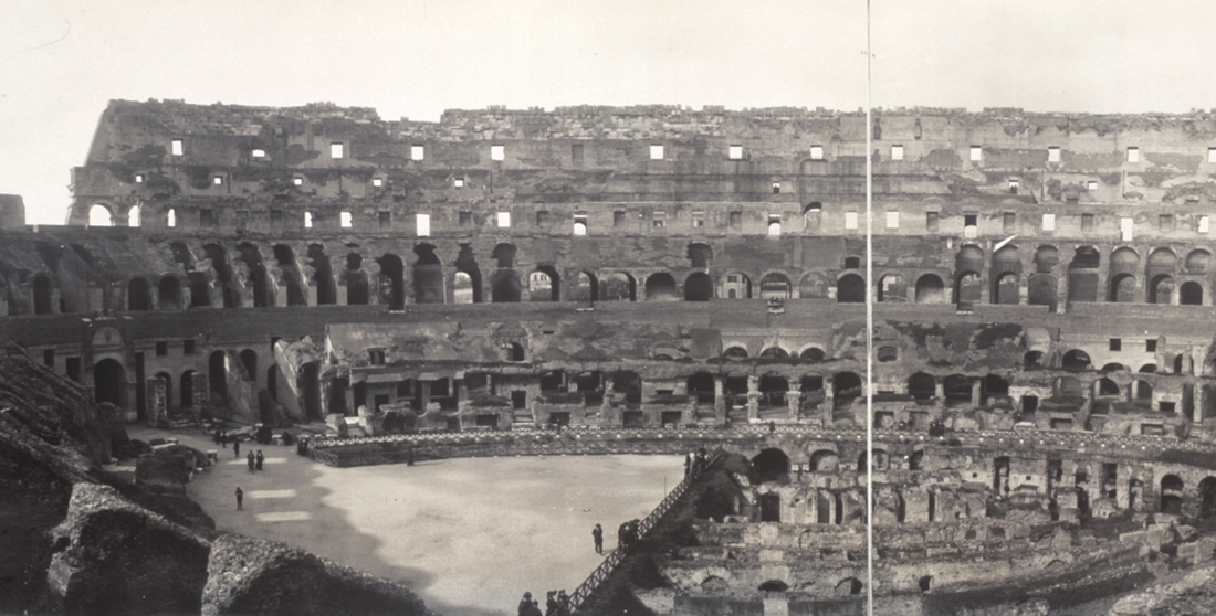 The Colosseum in 1909