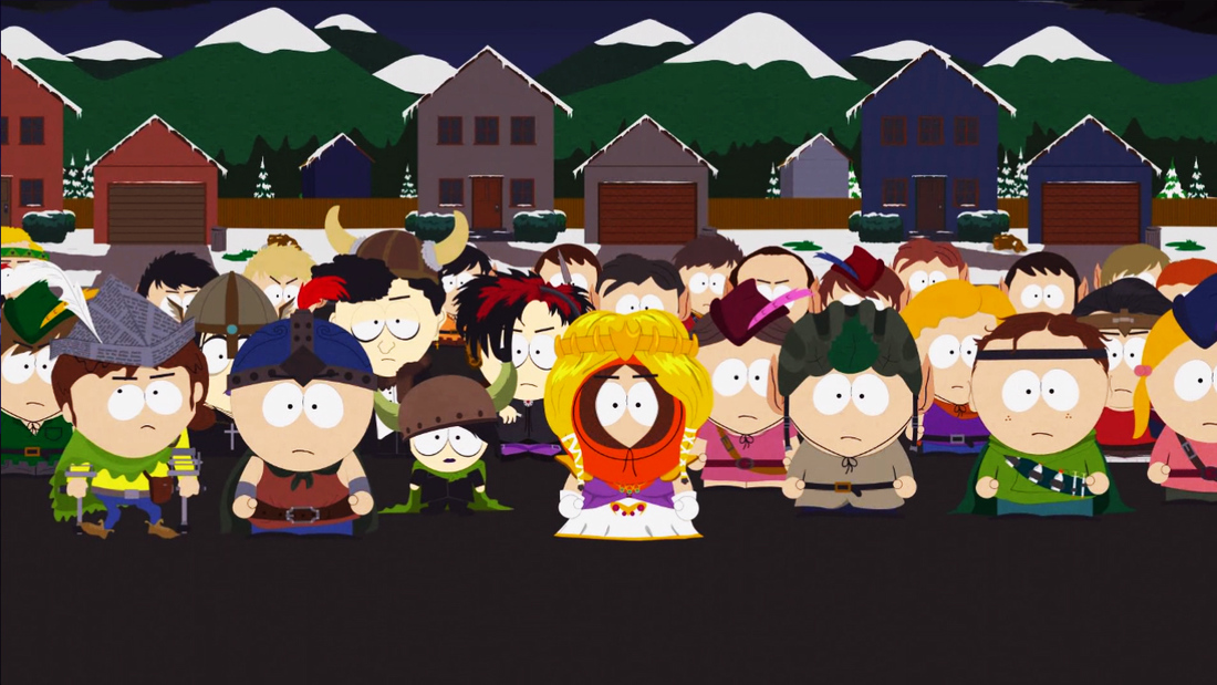 A first play of South Park: The Stick of Truth