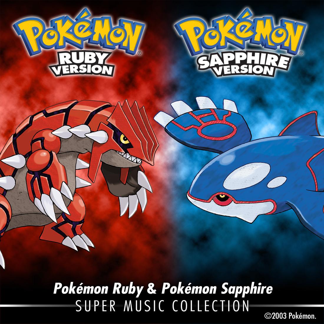 Pokemon Ruby, Sapphire soundtrack hits iTunes