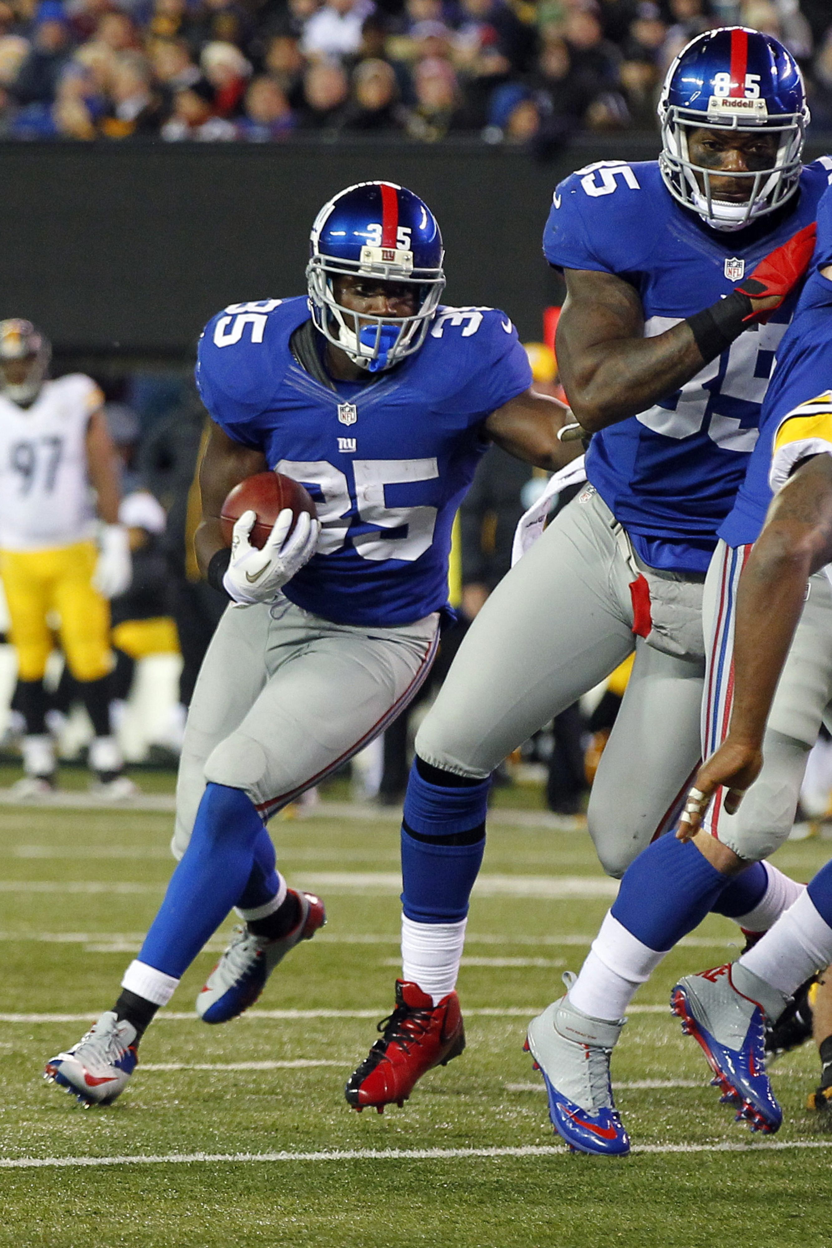 Andre Brown is a good fantasy play for a simple reason -- he scores touchdowns.