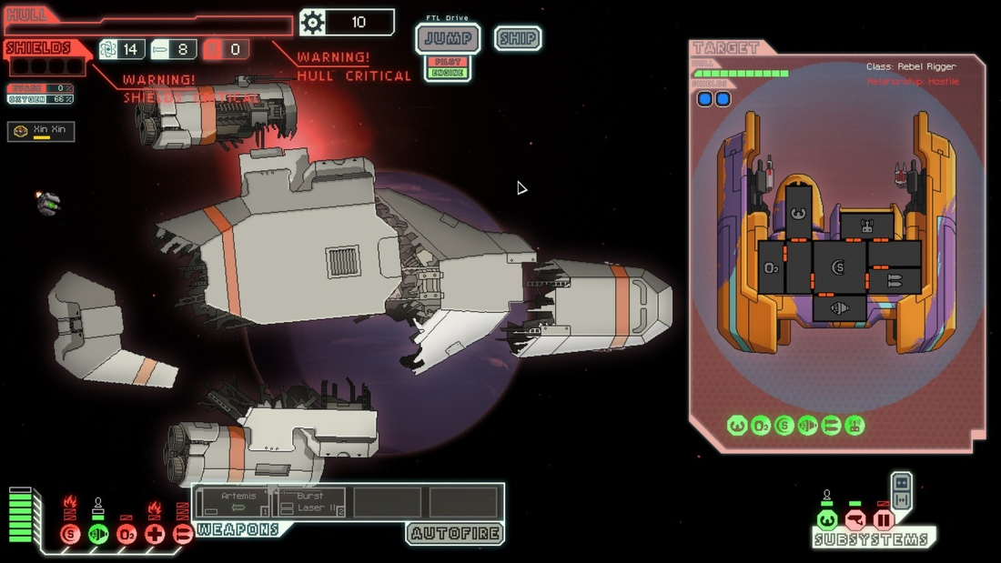 FTL: Advanced Edition's Clone Bay, hacking system detailed