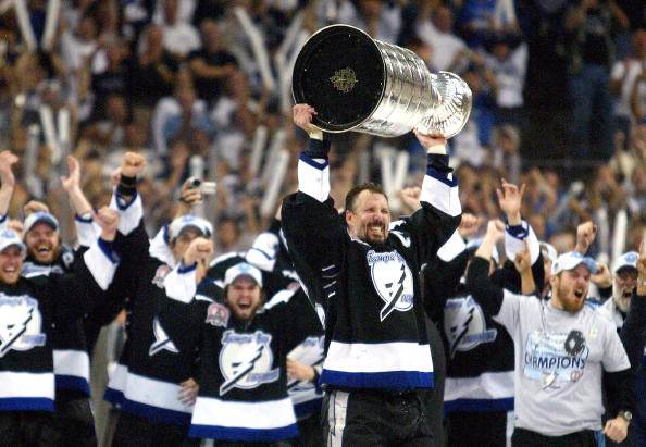 """The most glorious phrase you can hear from the commissioner: """"Captain ... Come Get Your Stanley Cup!"""""""