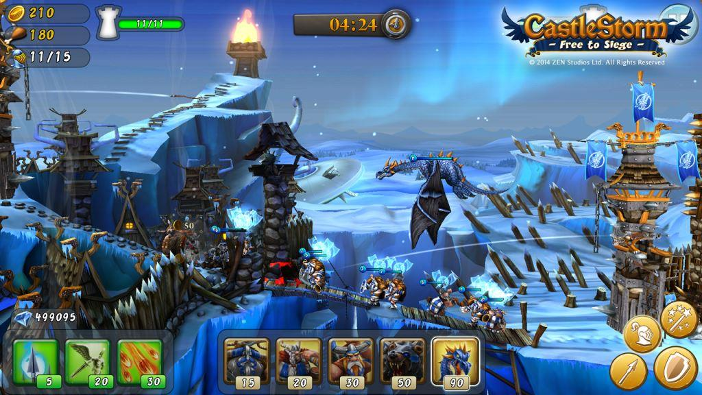 CastleStorm heads to mobile, Android beta open now