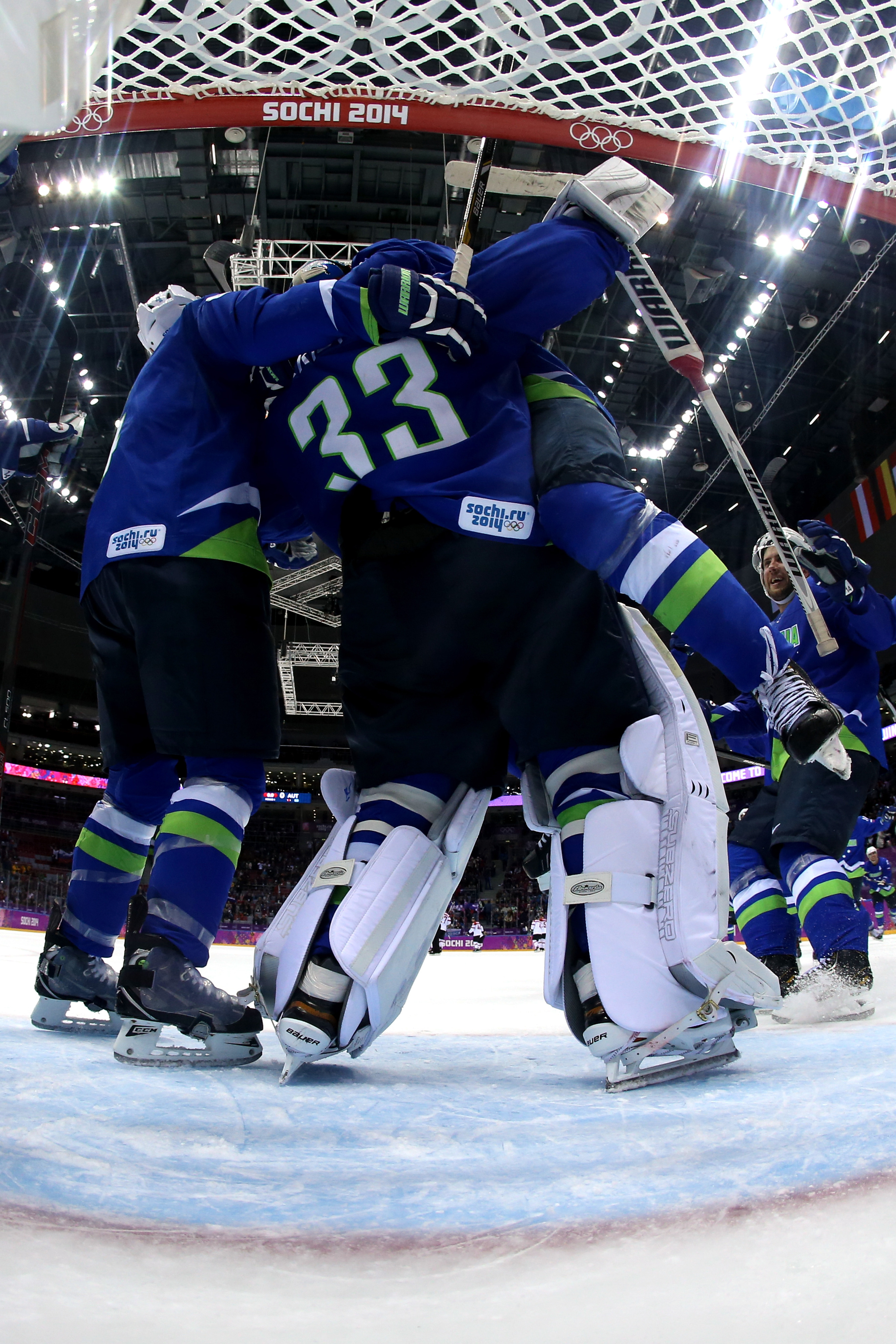 Slovenia's amazing run continues to the quarterfinals.