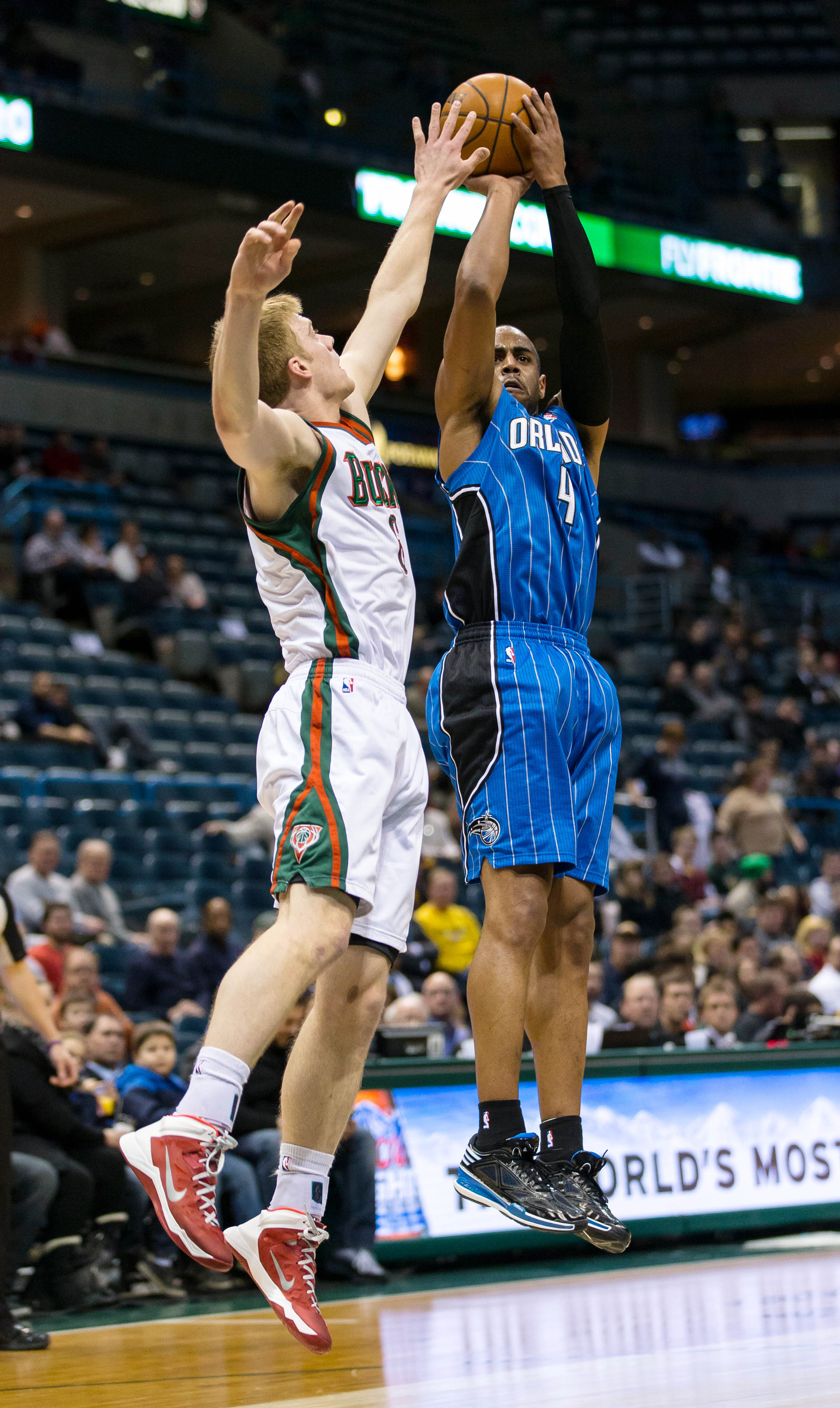 Nate Wolters and Arron Afflalo
