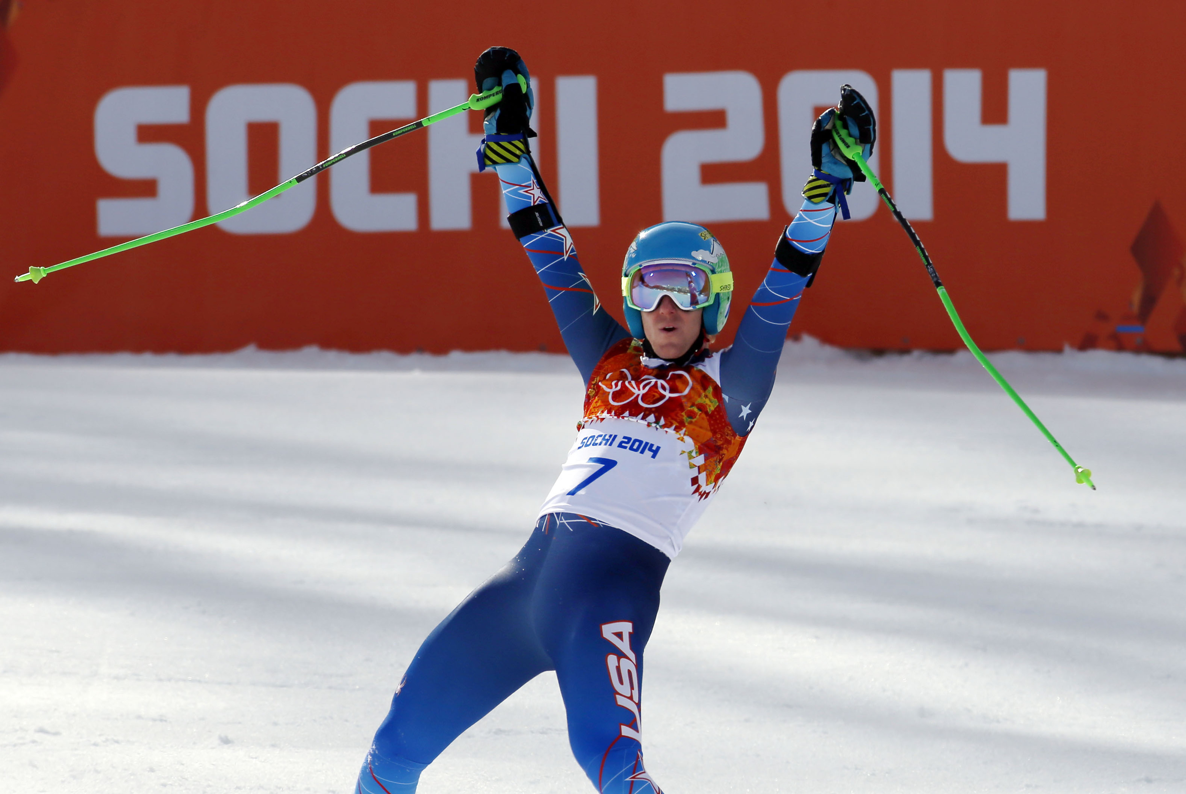Ted Ligety, first two-time USA gold medalist in Alpine.