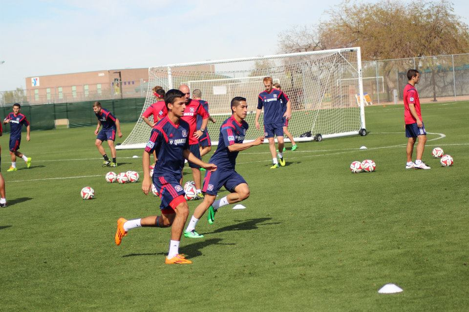 Former USA U20 teammates now reunited with the Fire, Victor Pineda and Benji Joya have the Hot Time staff excited for 2014.