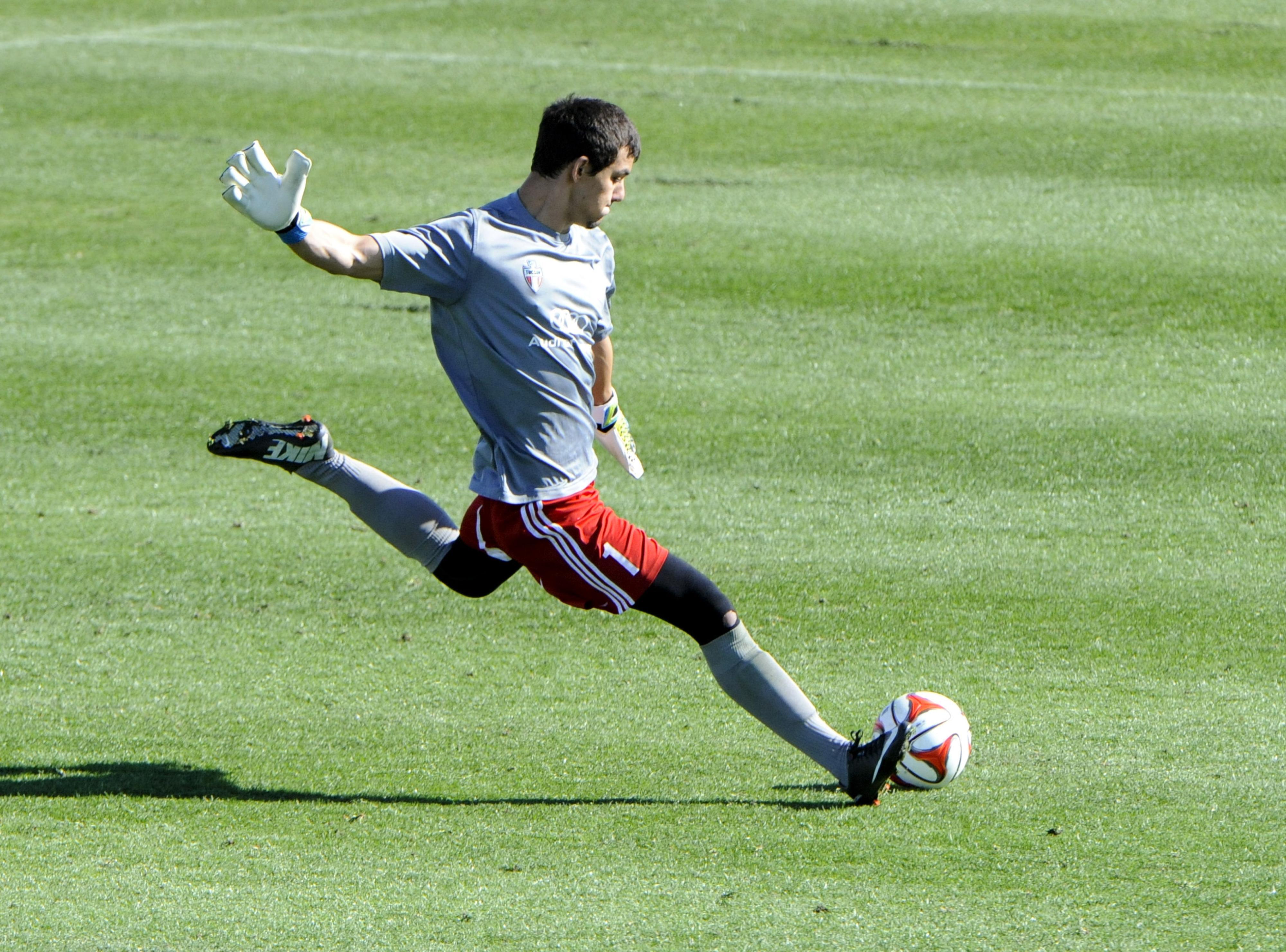 FC Tucson goalkeeper Michael D'Arrigo