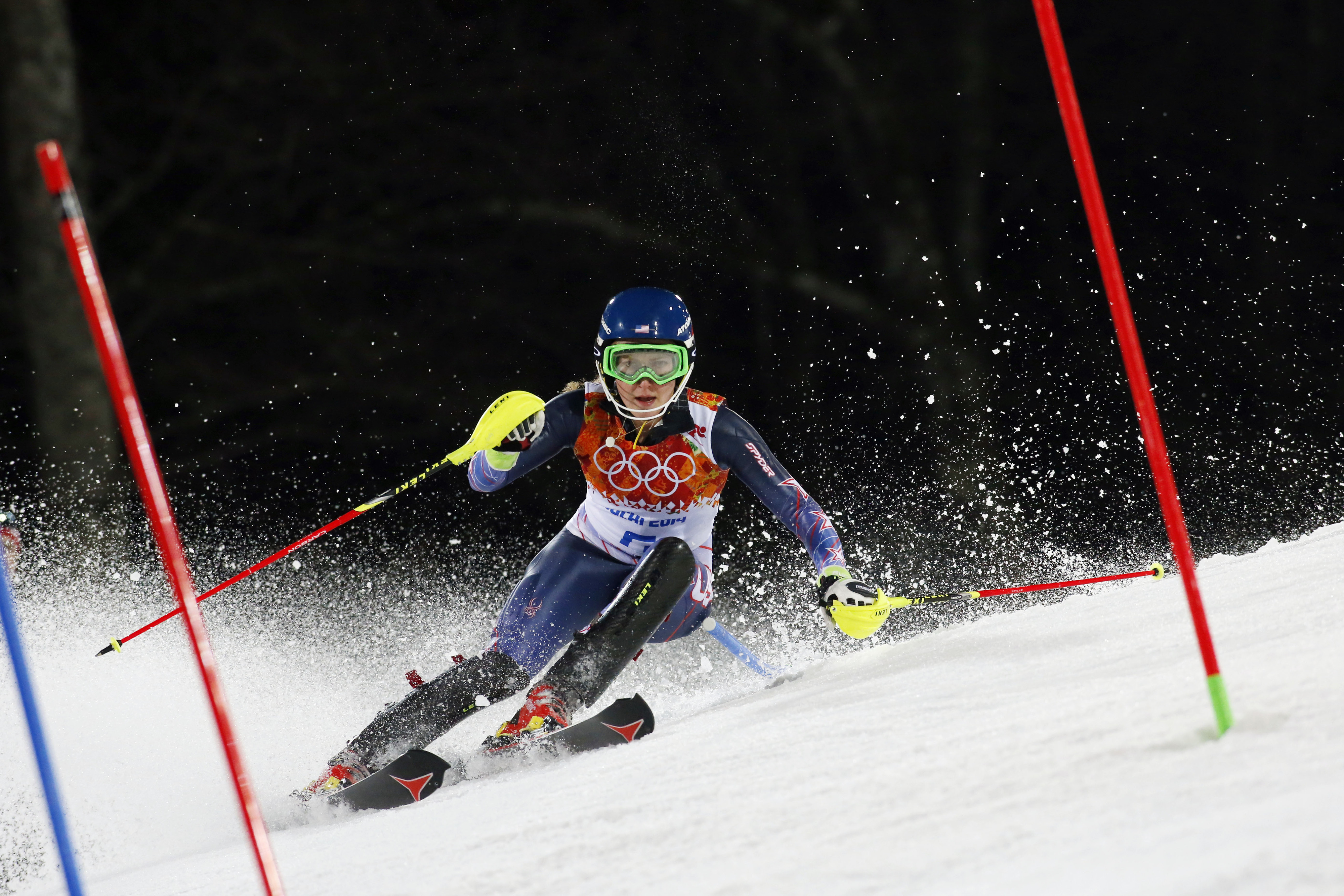 Mikaela Shiffrin added to the USA's gold medal count.