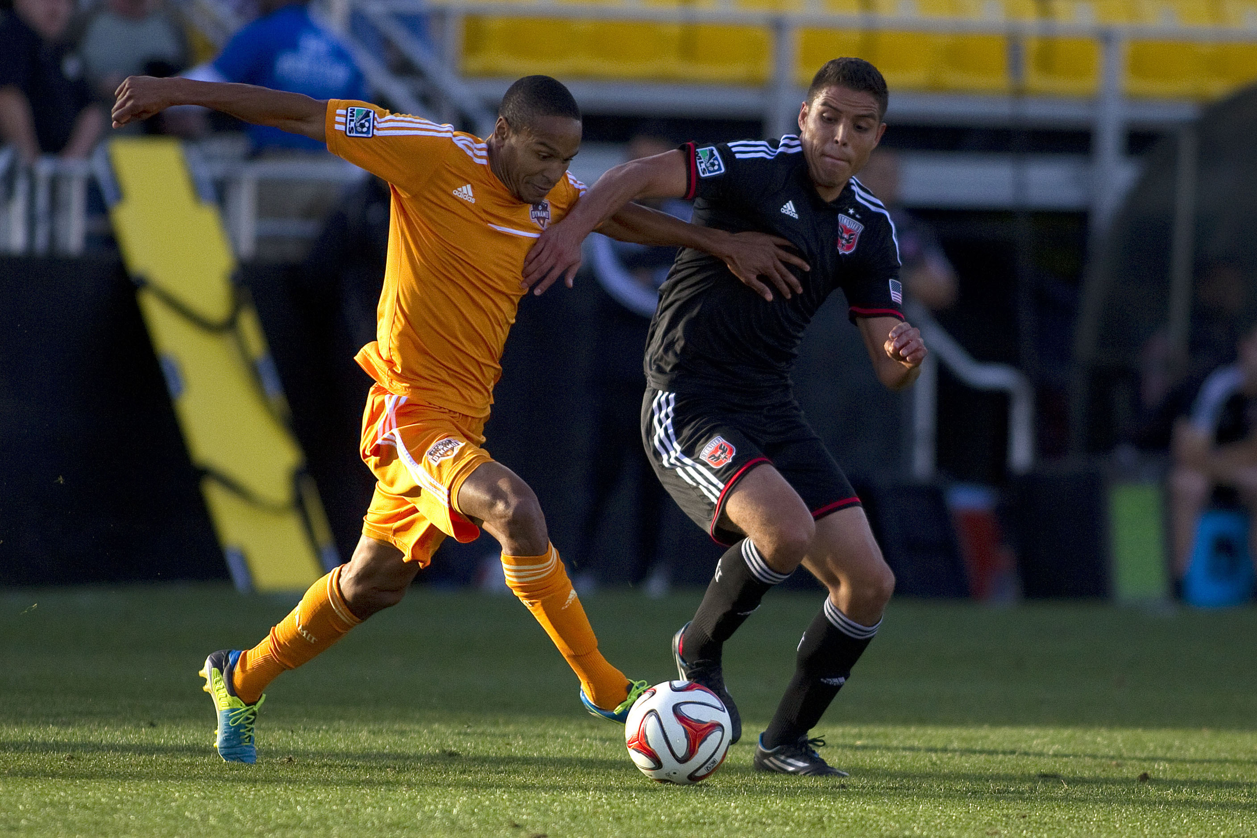 Luis Silva and D.C. United battled to a 2-0 win over Houston in preseason play tonight.