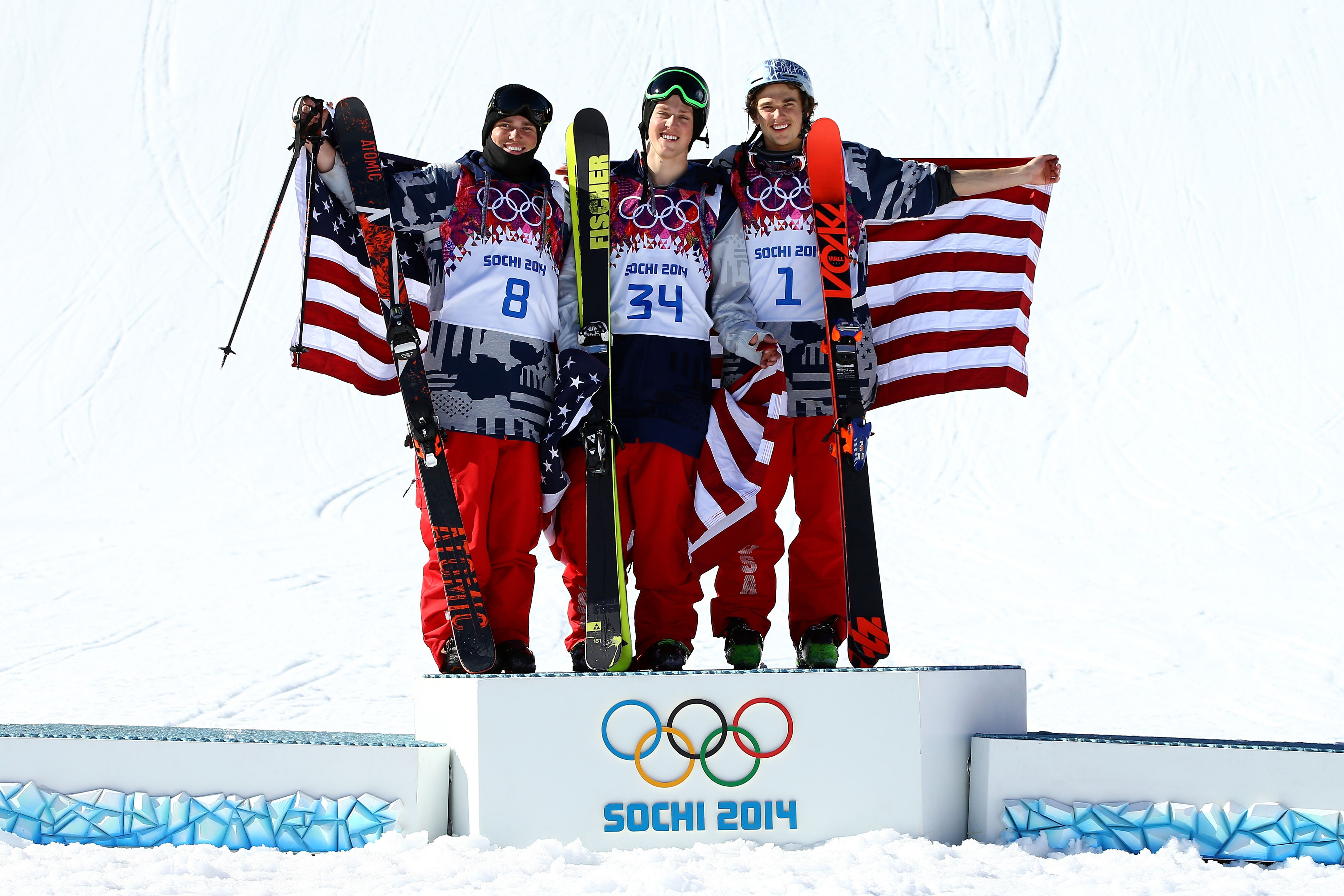 Winter Olympics 2014: The United States won at all the new sports