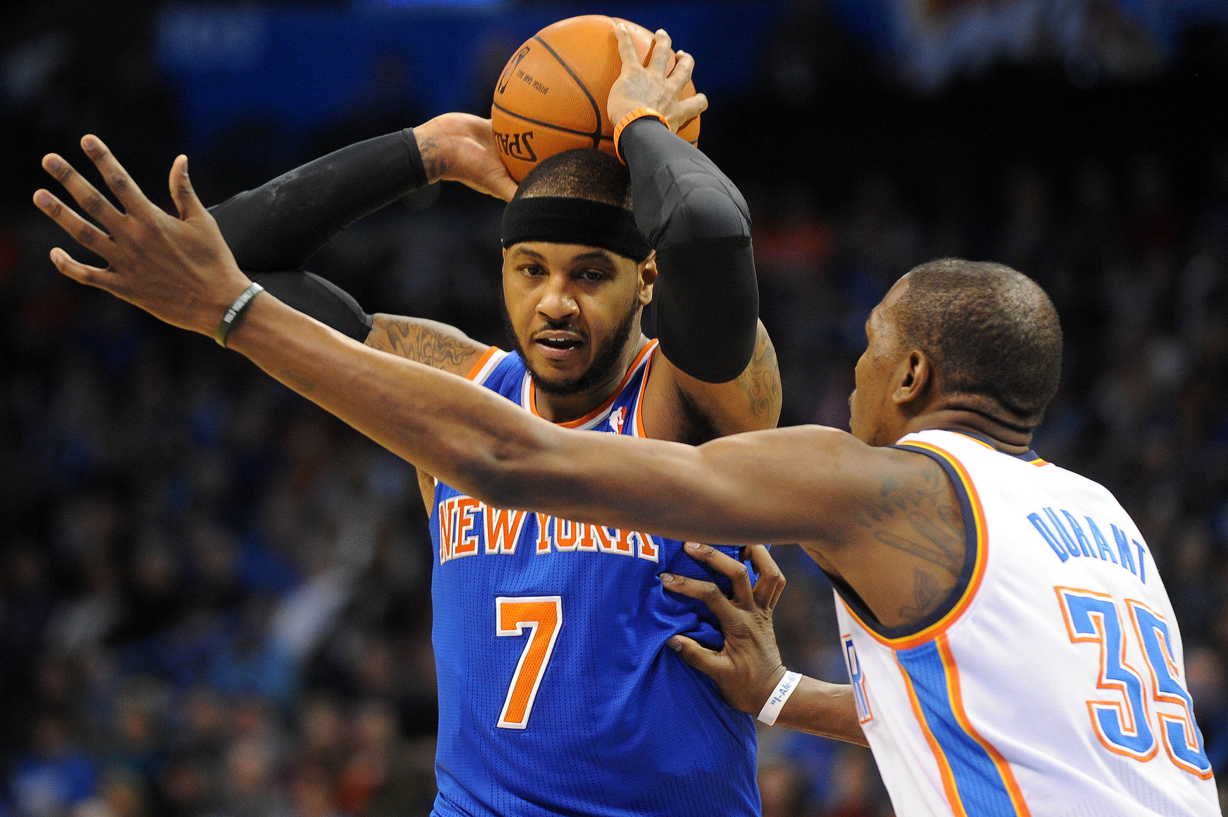 Carmelo Anthony says making playoffs won't change free agency decision