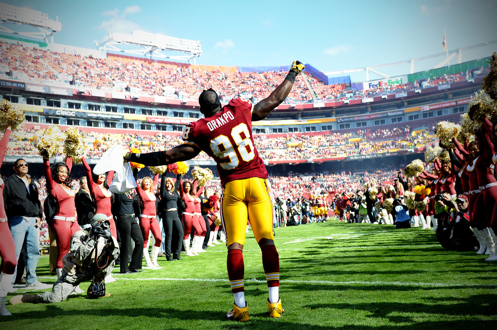 Brian Orakpo could hit the free agency market