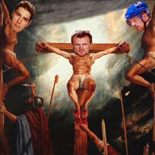 Crucify them! Crucify them!