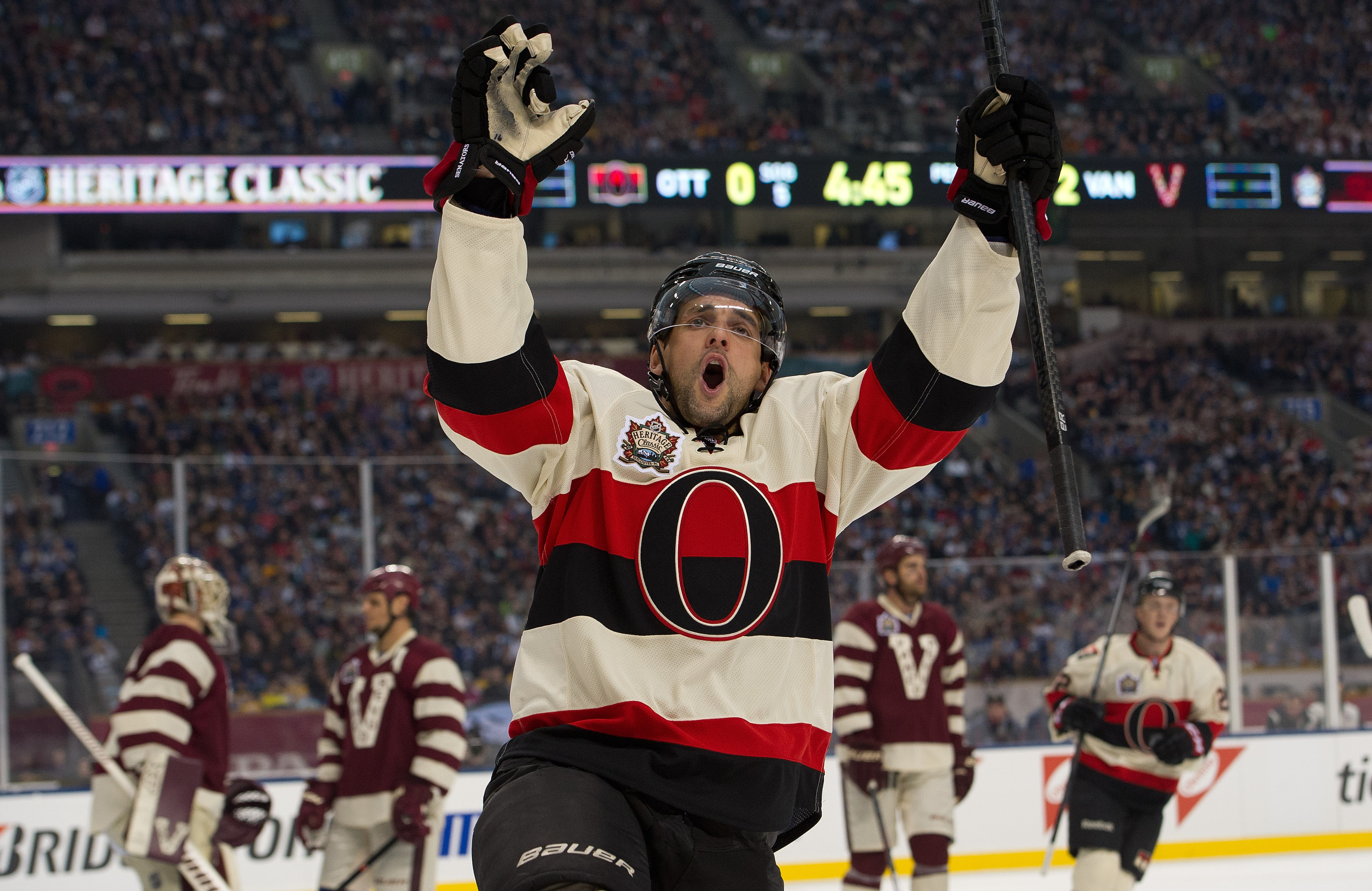 Clarke MacArthur knows what an honor it is to get named Biggest Gainer.