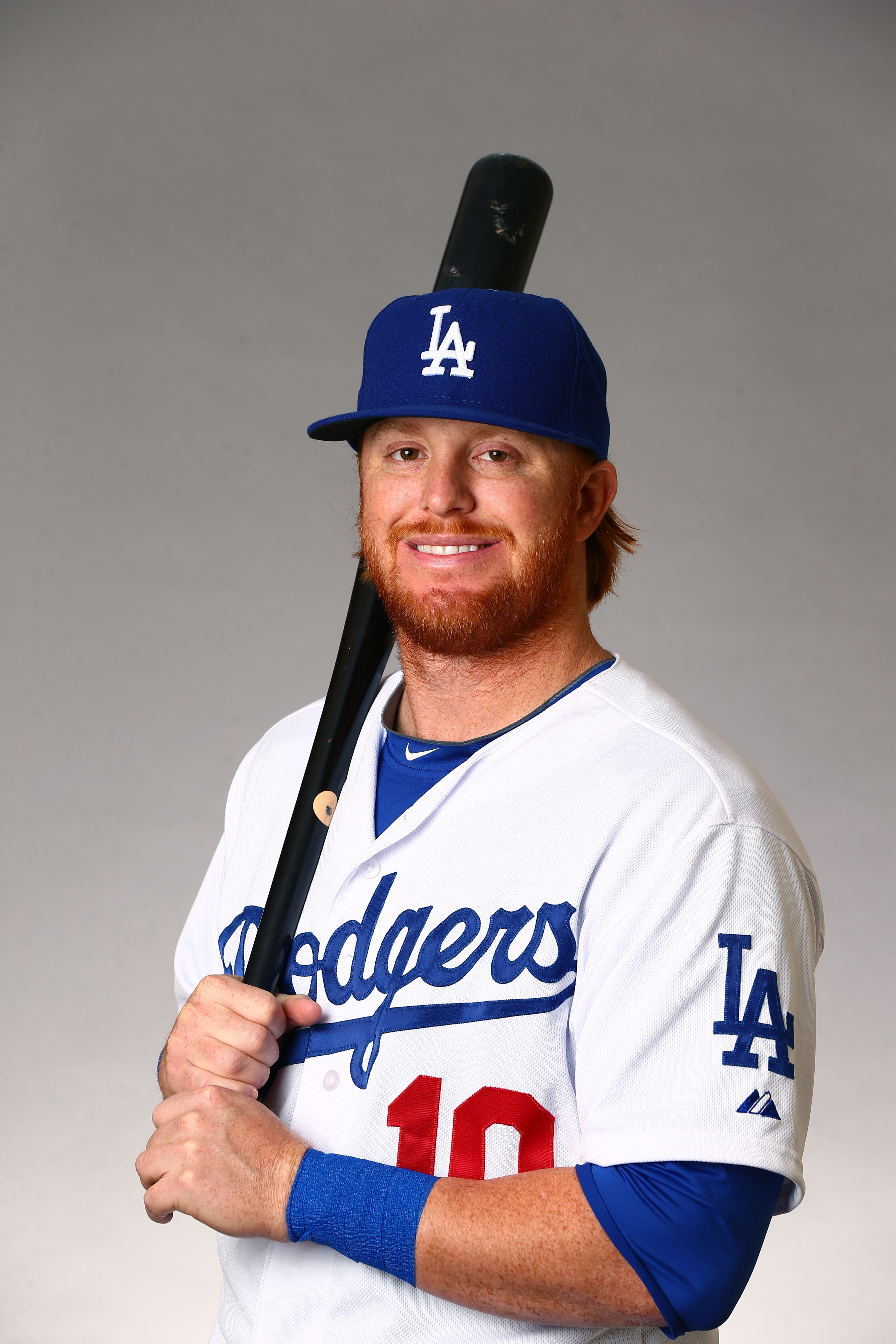 Justin Turner demonstrates the appropriate level of excitement about Justin Turner.