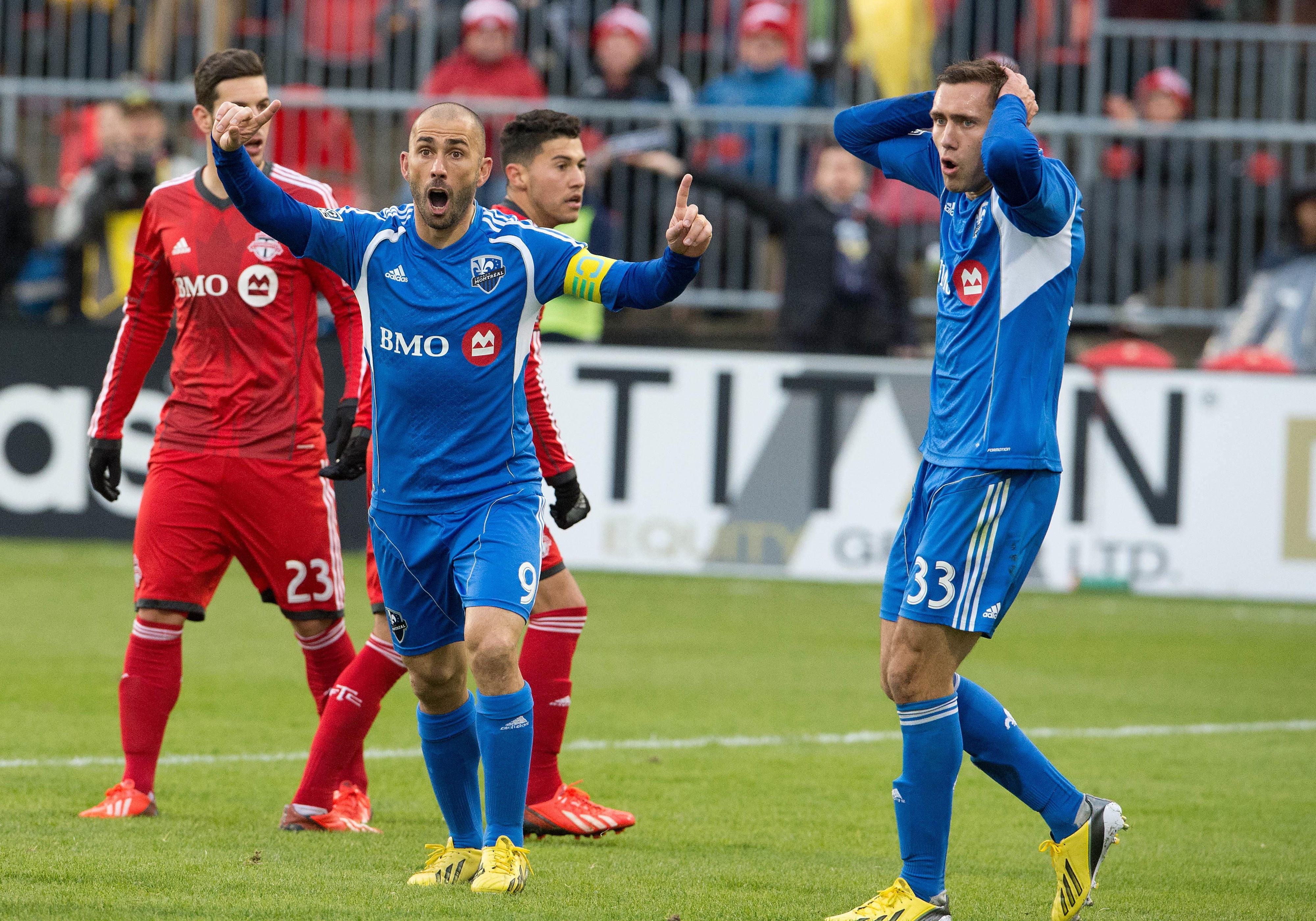 Marco Di Vaio will have to carry the Impact once again if they're going to get back to the playoffs.
