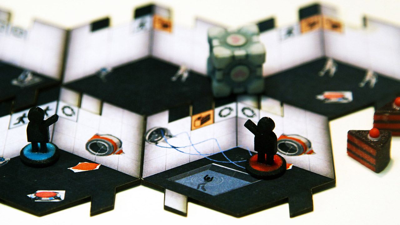 How Valve and Cryptozoic came together for a Portal board game (update)