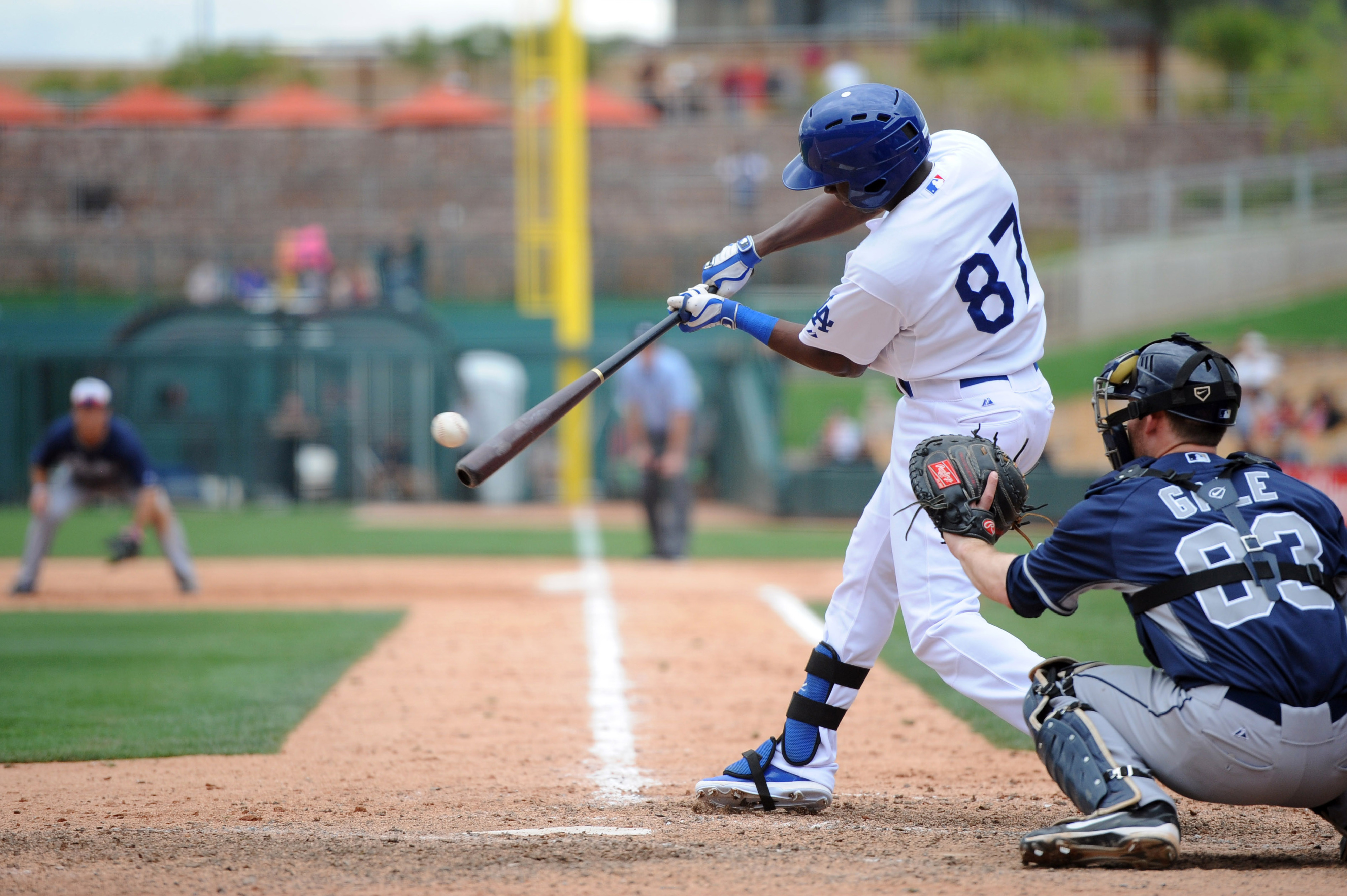 Darnell Sweeney has suited up with the major league team five times in the first seven Cactus League games. On the minor league side, he wears No. 15.