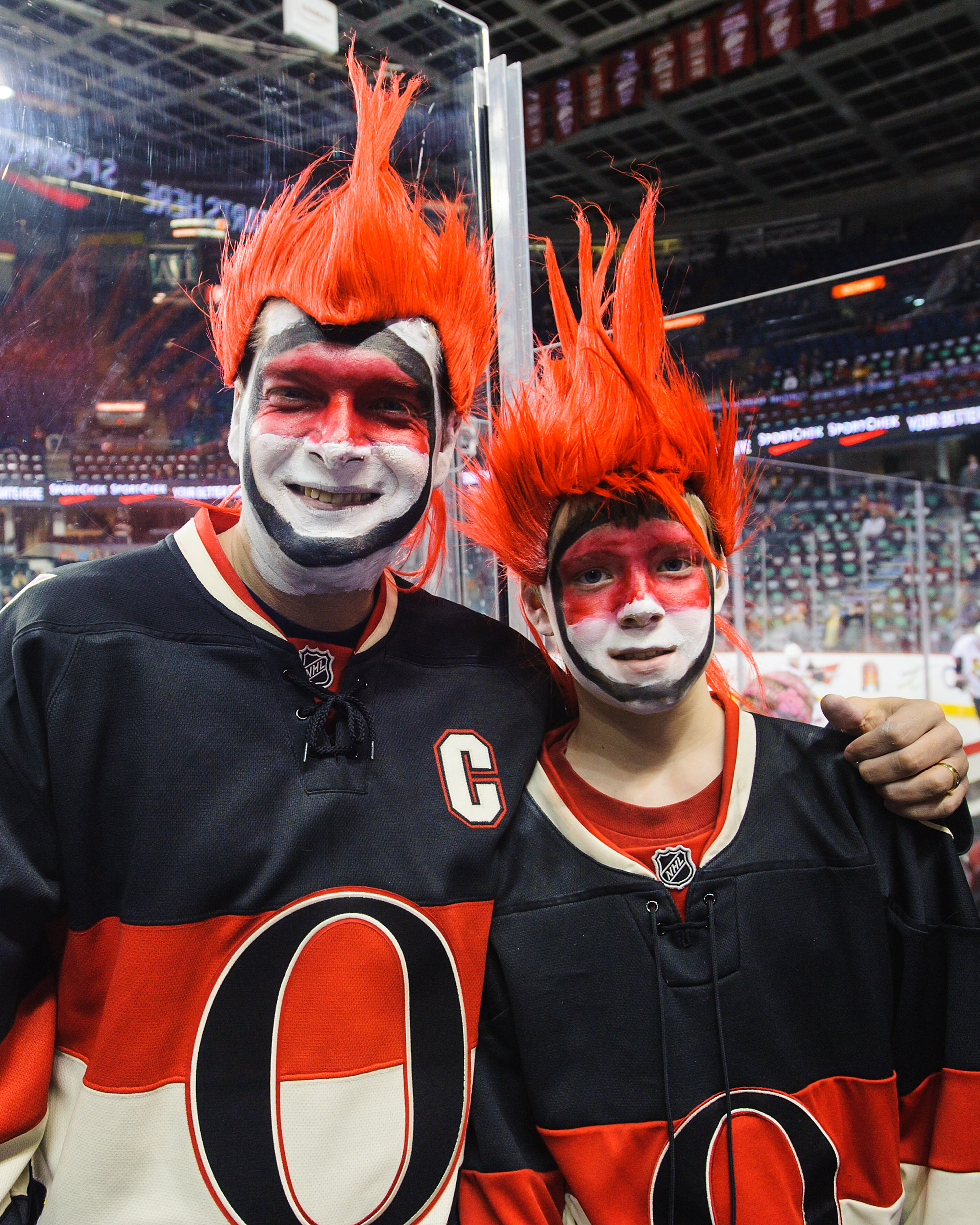 Gotta feel bad for the embarrassment these superfans must have felt after Wednesday's loss.
