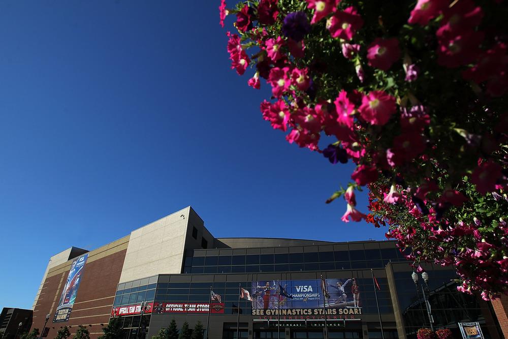 Xcel Energy Center, site of the 2014 Minnesota State Boy's Hockey Tournament