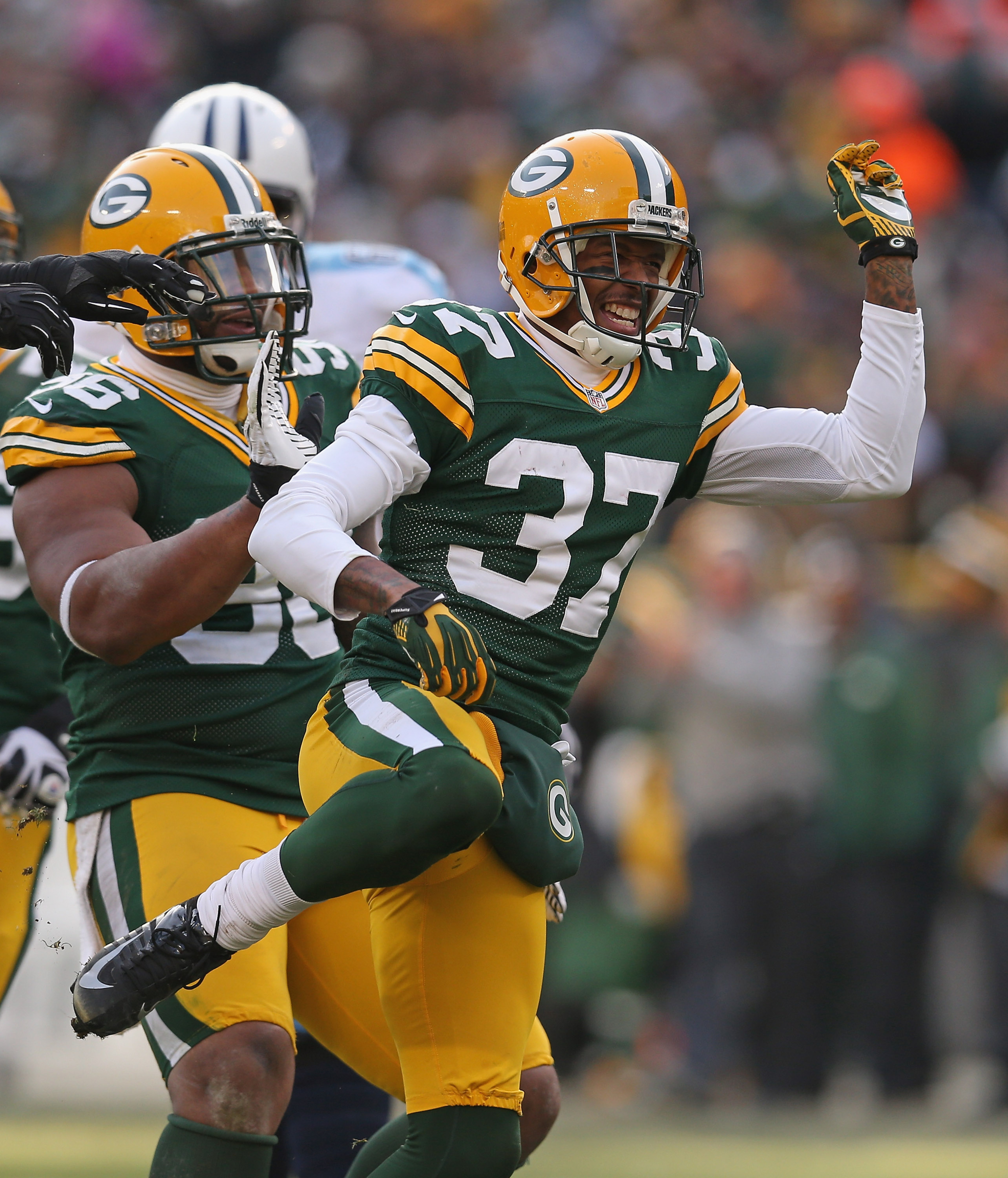 Mike Neal and Sam Shields